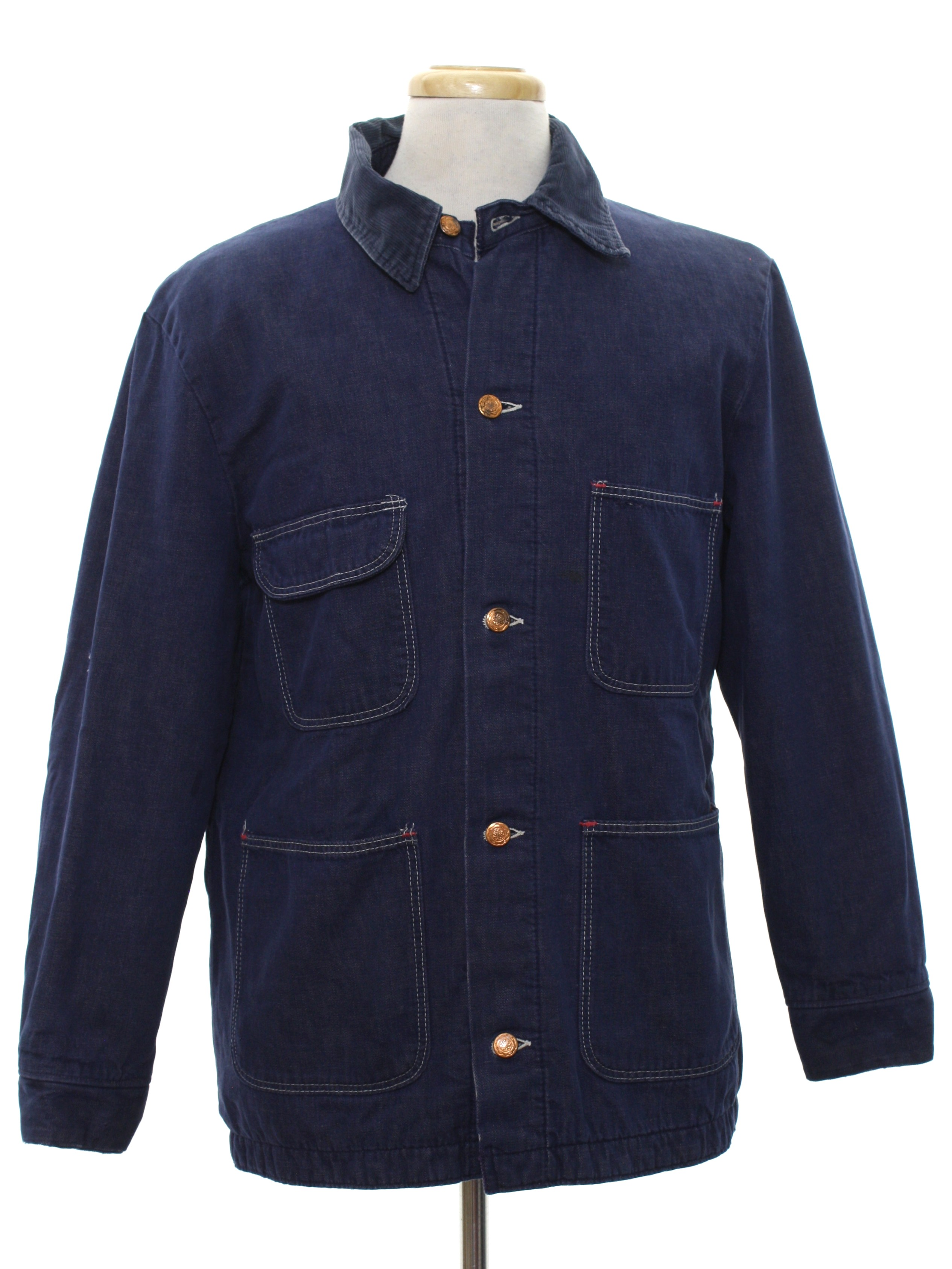 34a1eb6b8ad2a Blue Bell Inc. Eighties Vintage Jacket: 80s -Blue Bell Inc.- Mens ...