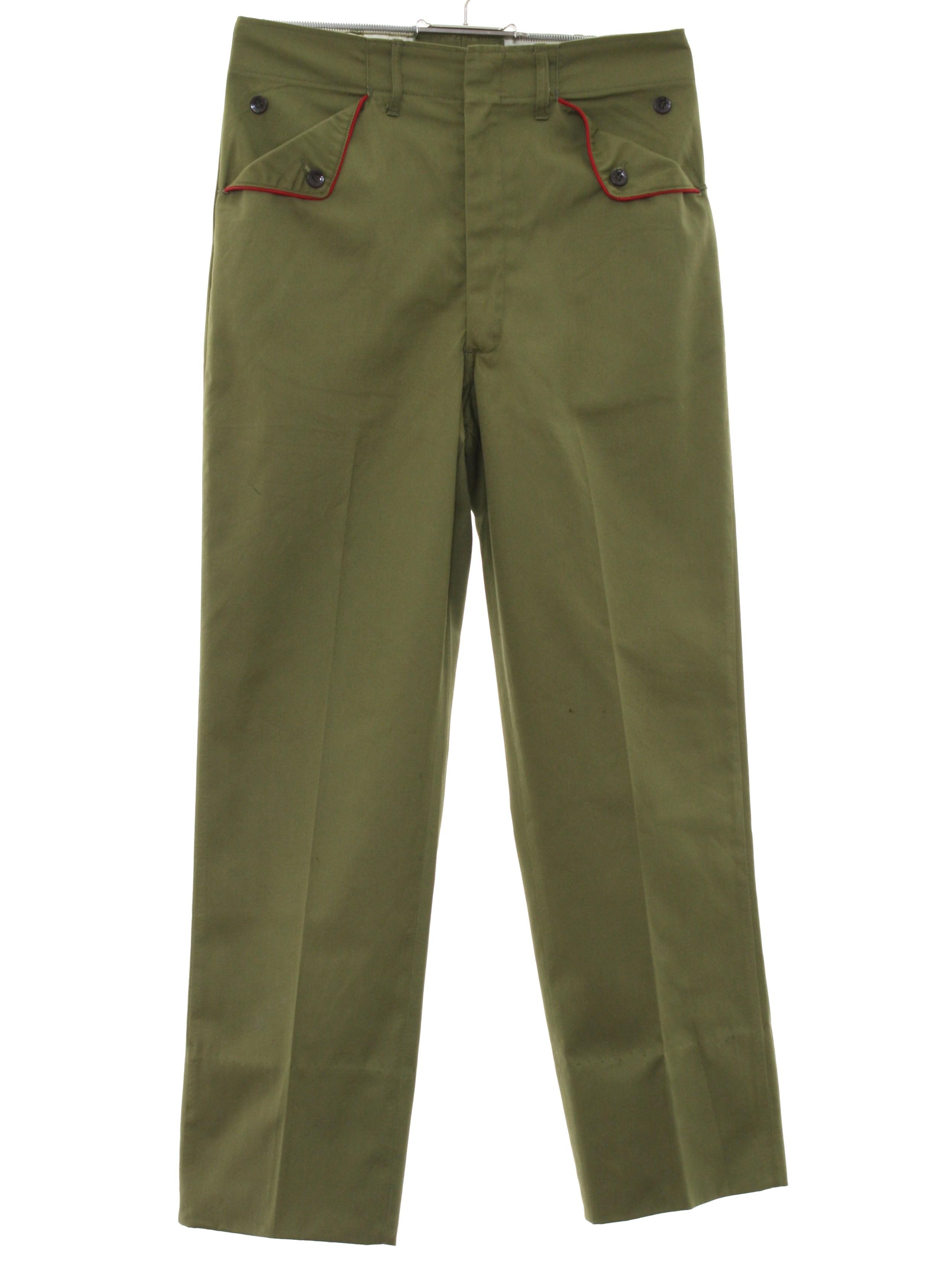 Vintage Boy Scouts Of America 1960s Pants 60s Boy Scouts