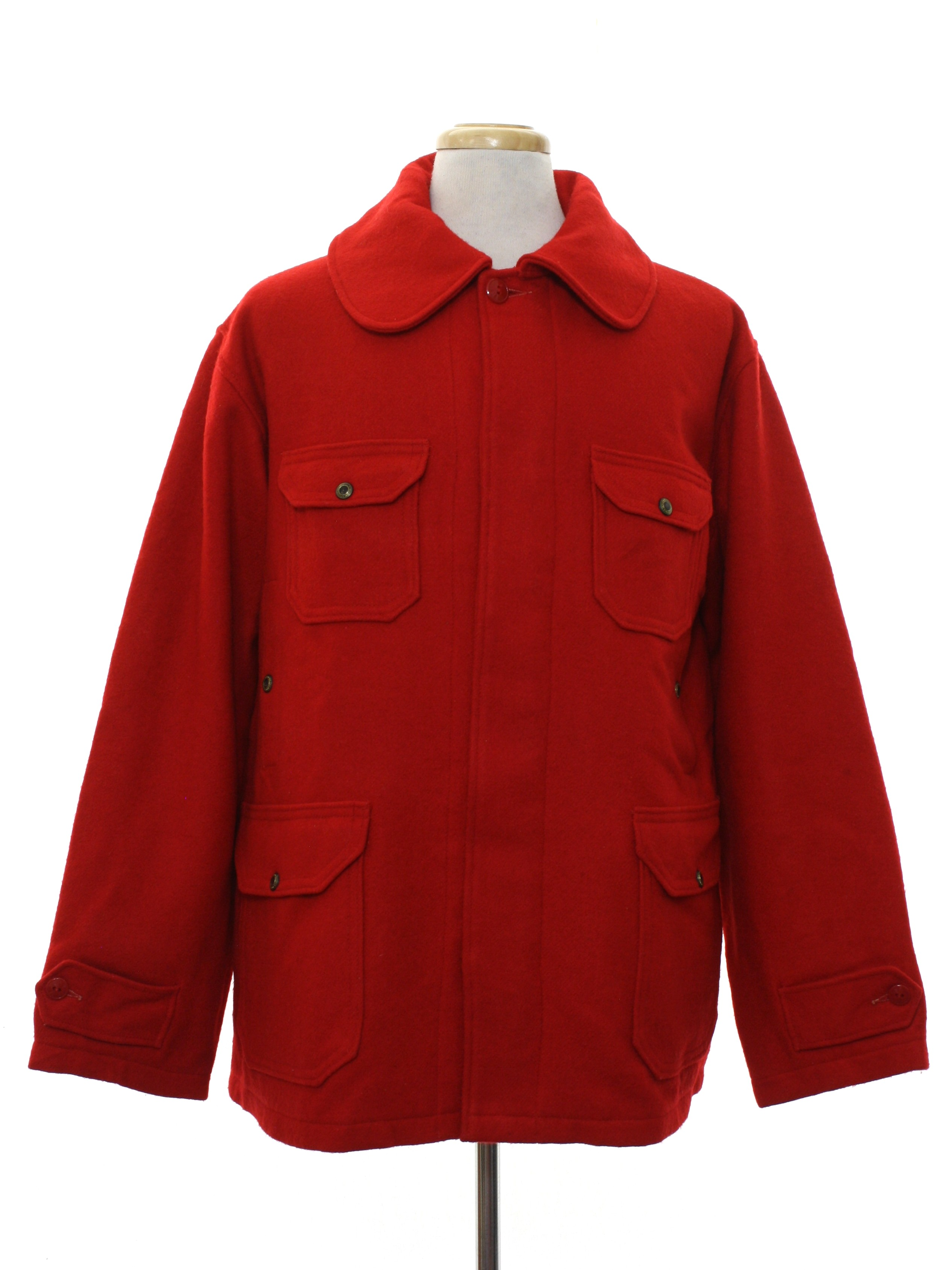 Retro 1950s Jacket Late 50s Or Early 60s Woolrich Mens