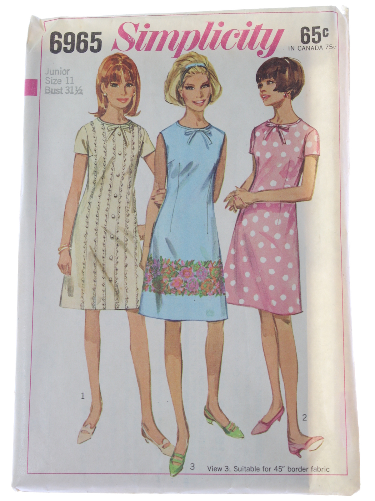 1960 u0026 39 s retro sewing pattern  1967