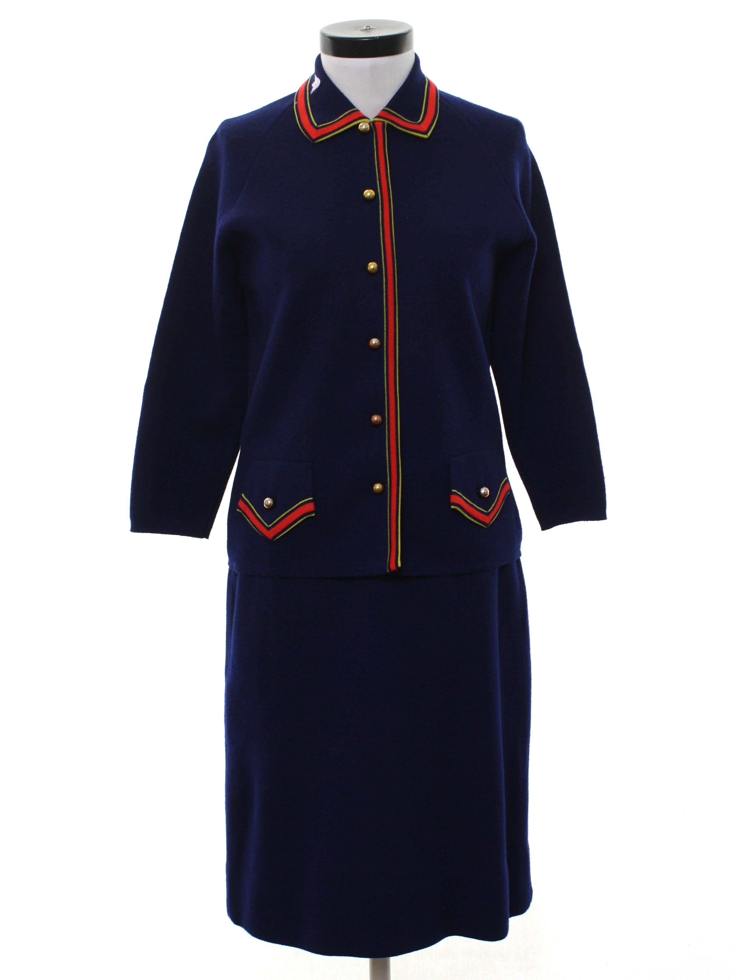 Vintage Macy Associates 1960s Suit 60s Macy Associates Womens