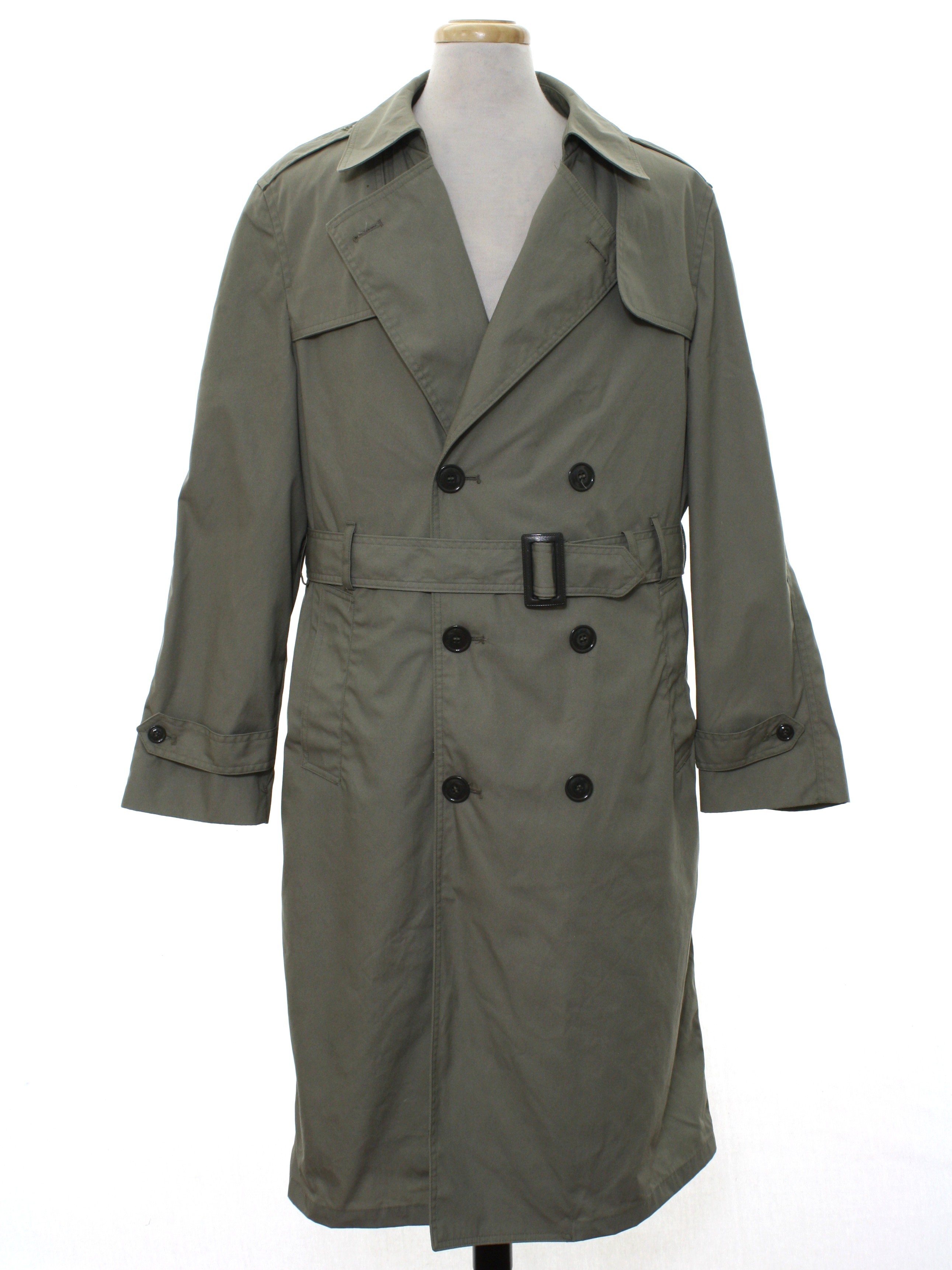 1960s Vintage Med MattGlossy /'Flash of Lightning/' MOD Green Coat Jacket Dress Buttons-27mm