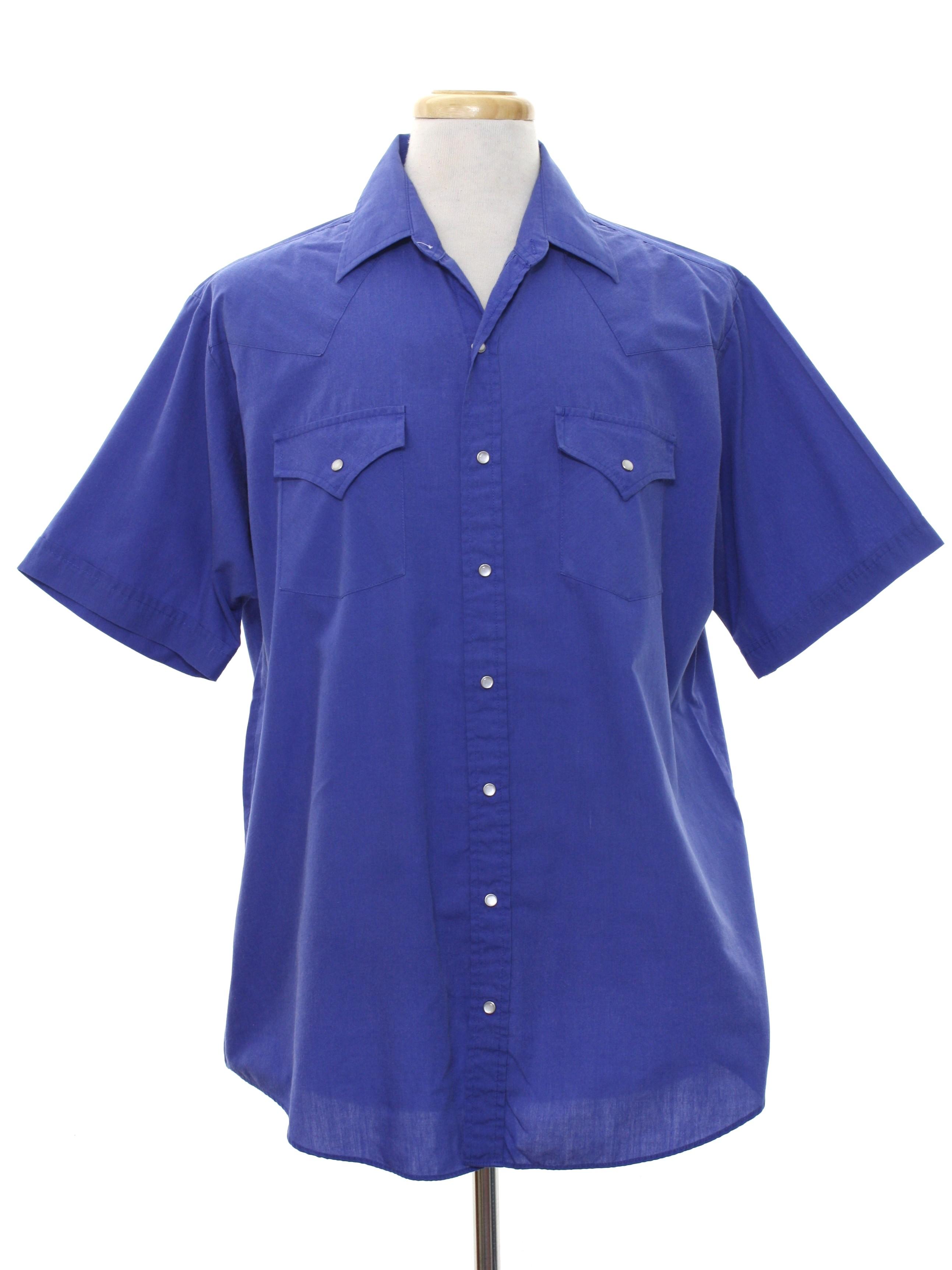 Mens No Iron Short Sleeve Shirts