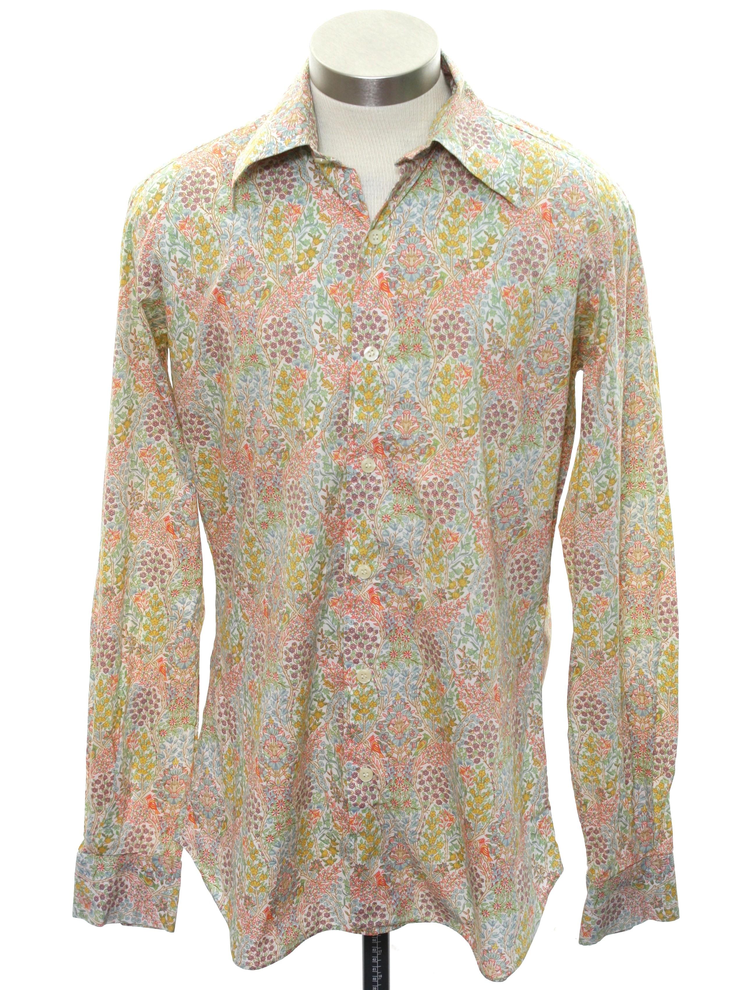 1970's Hippie Shirt (Liberty of London): 70s -Liberty of ...
