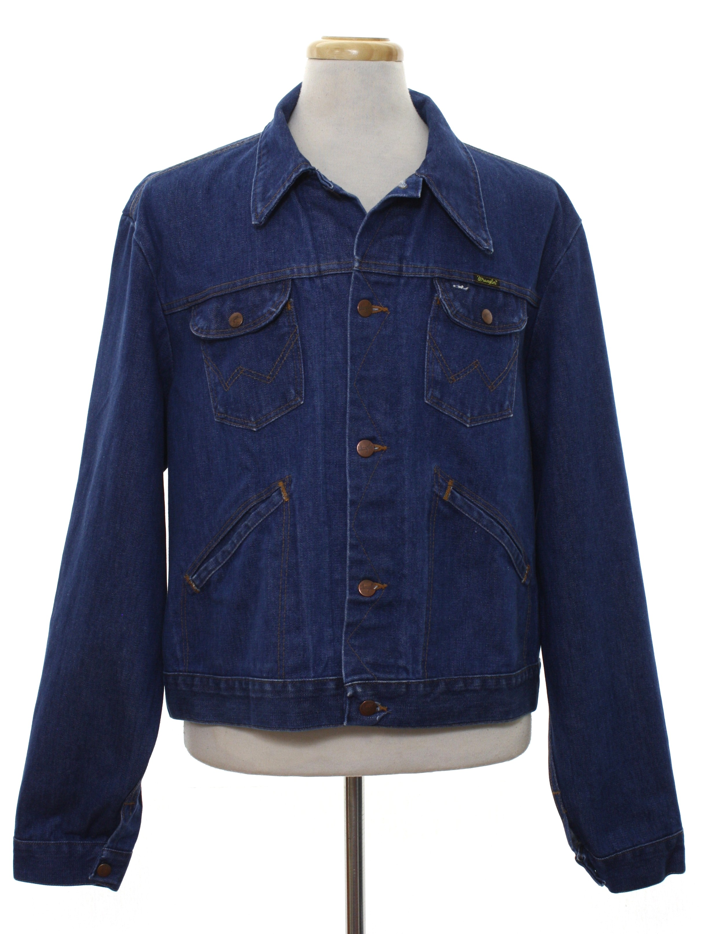 f33c05cf67 Vintage Wrangler Seventies Jacket  Late 70s or Early 80s -Wrangler ...