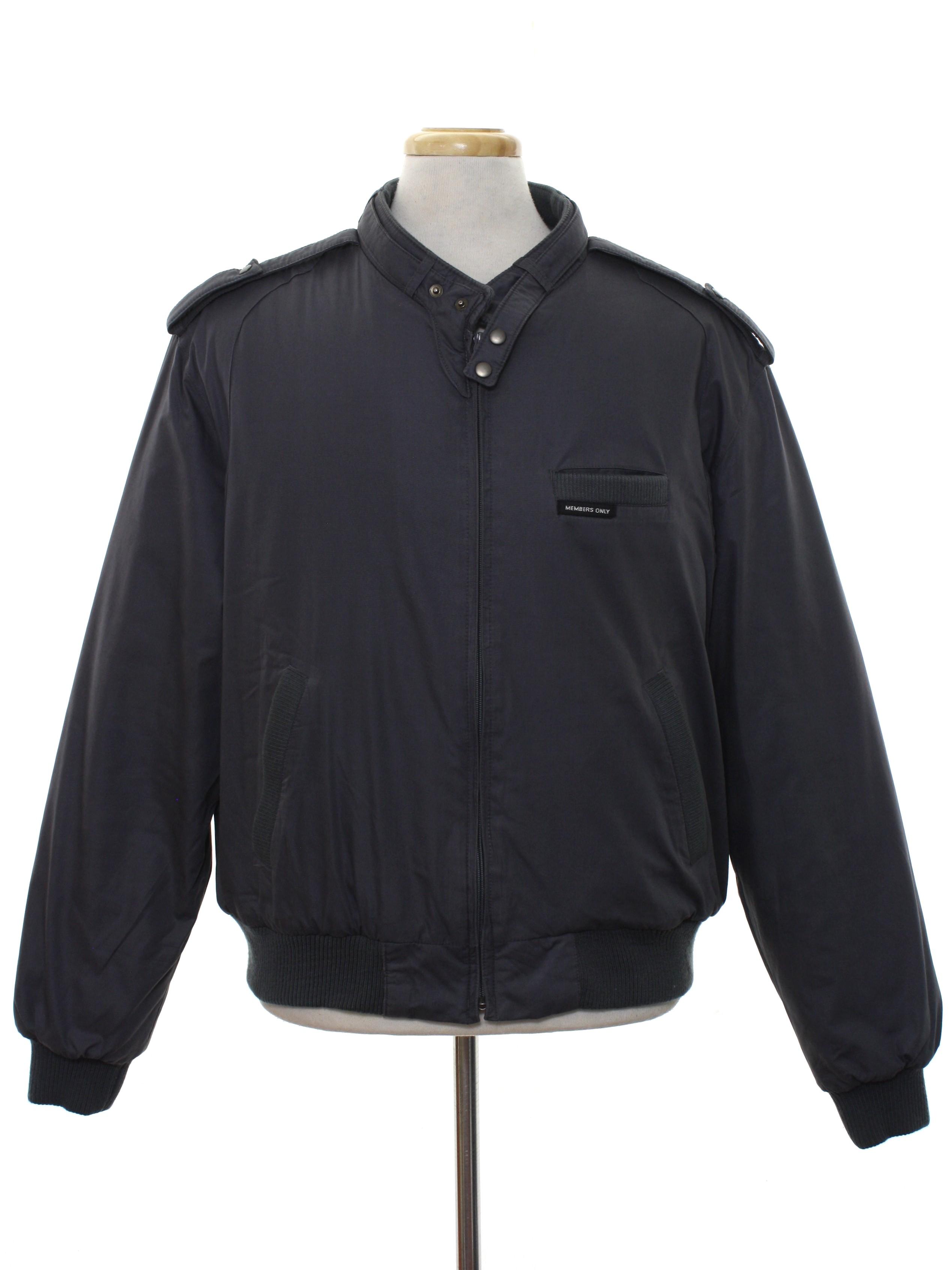 1980's Members Only Jacket mNpLbk