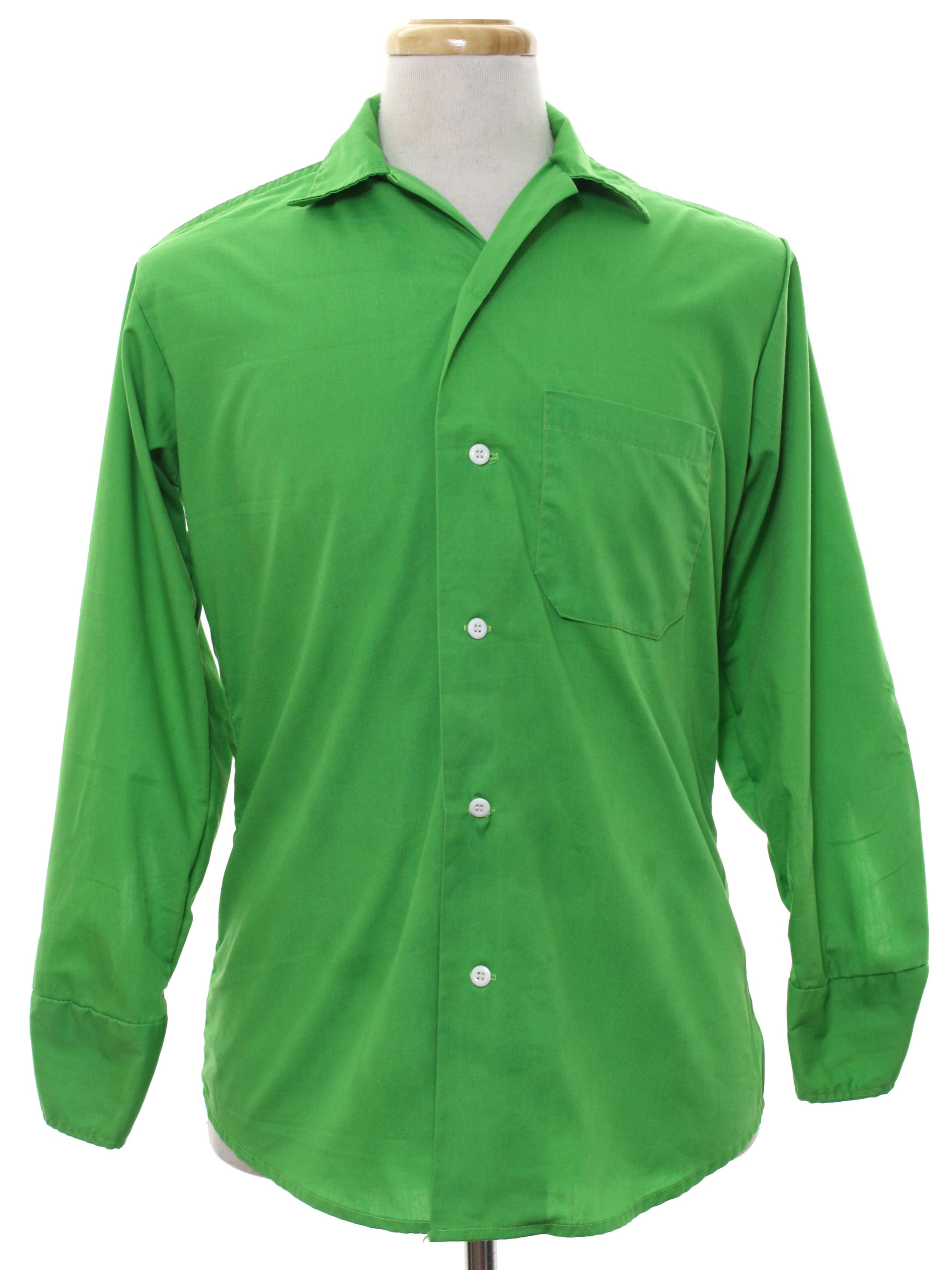 1960's Gee Gee Mens Mod Shirt