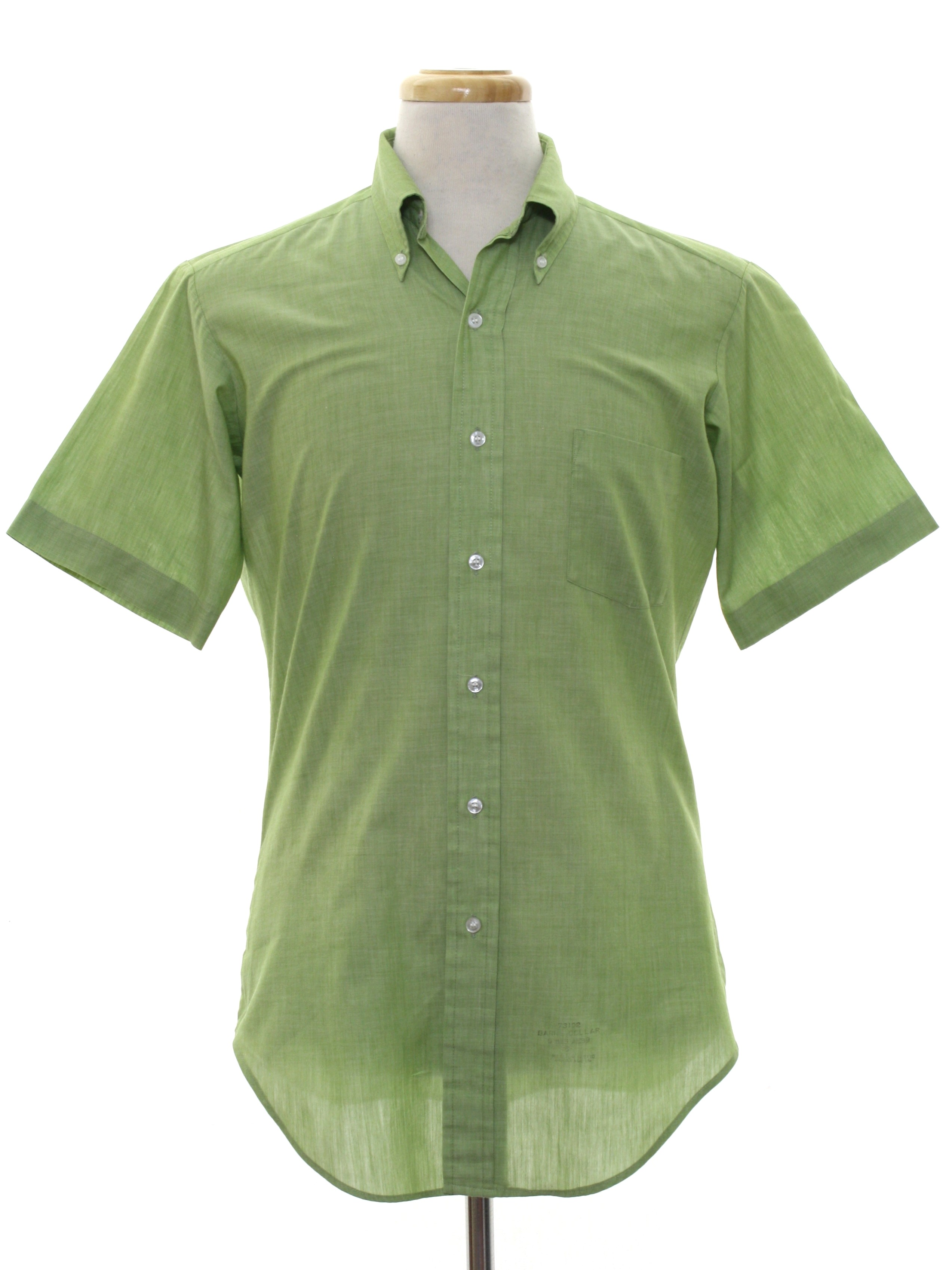 739b4934245 Sixties Sears Mens Store Shirt: Late 60s or early 70s -Sears Mens ...