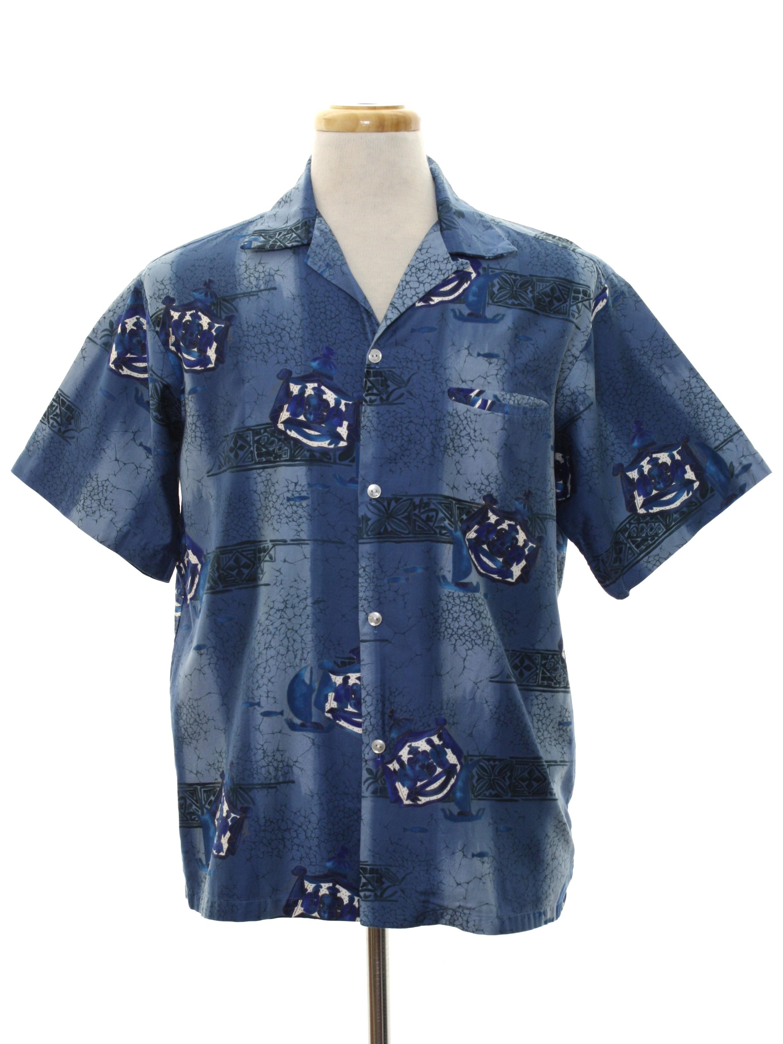 1244d4e1 Tropicana Made in Honolulu 1960s Vintage Hawaiian Shirt: Early 60s ...