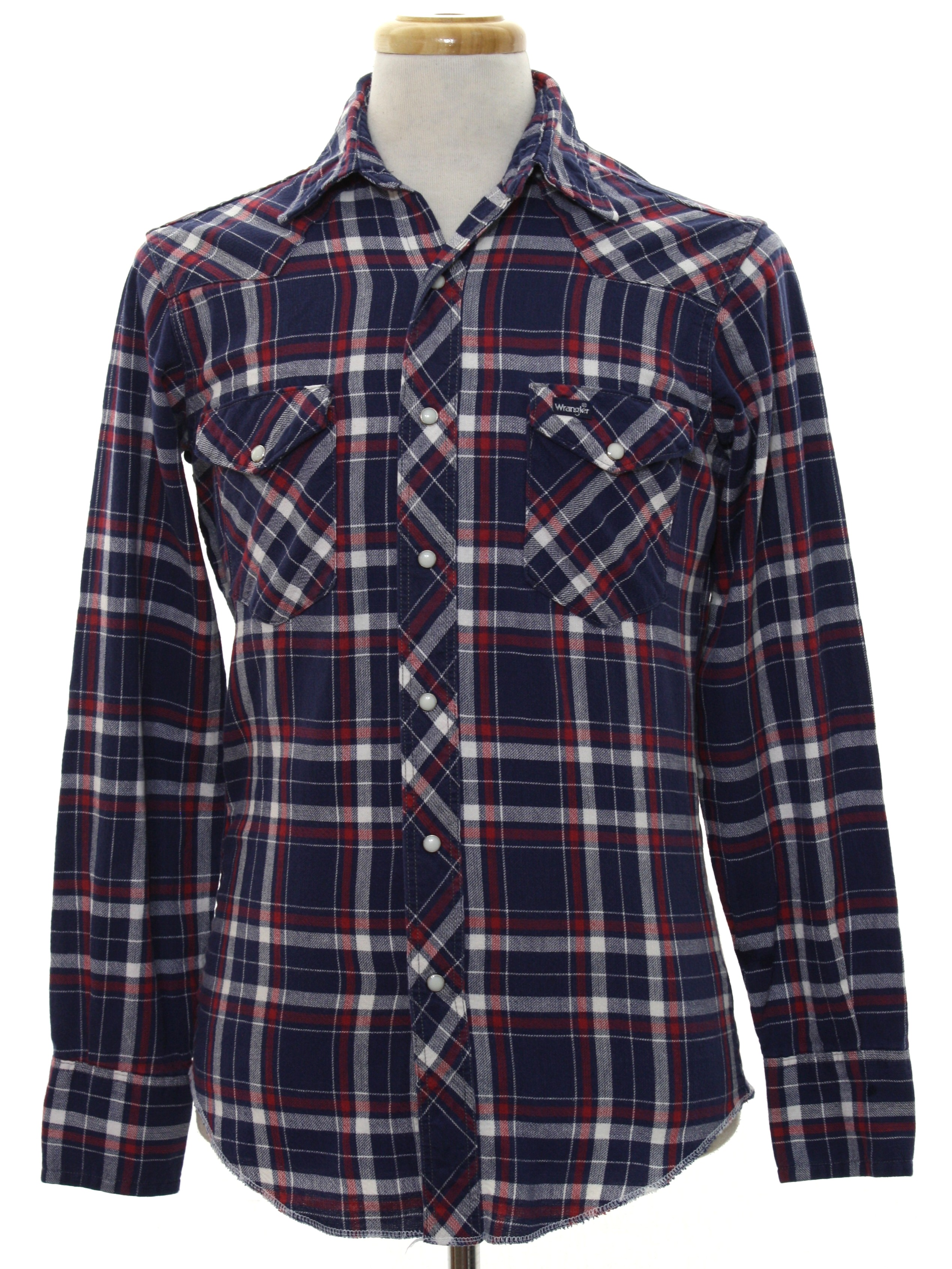 7e23ddac1fe Eighties Vintage Western Shirt  80s -Wrangler Western Shirts