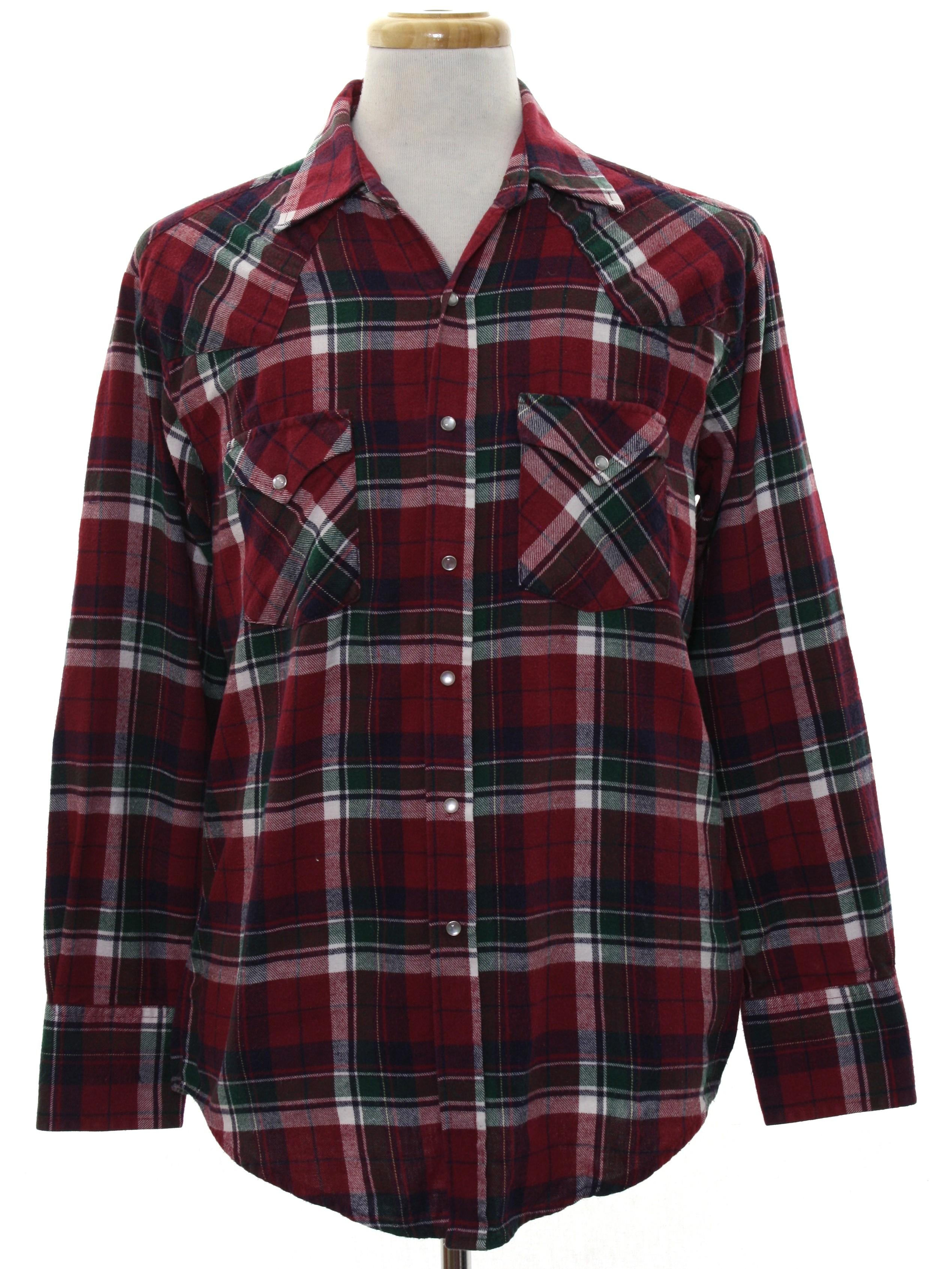 149c7726522971 80s Vintage Ely Cattleman Western Shirt  80s -Ely Cattleman- Mens ...
