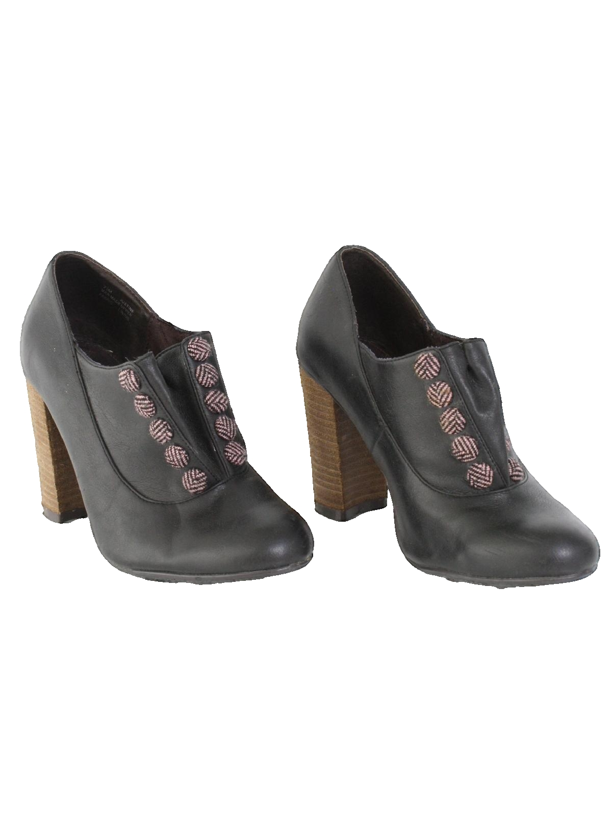 e7bfb82d12a22 1970's Pink Womens Heels Shoes