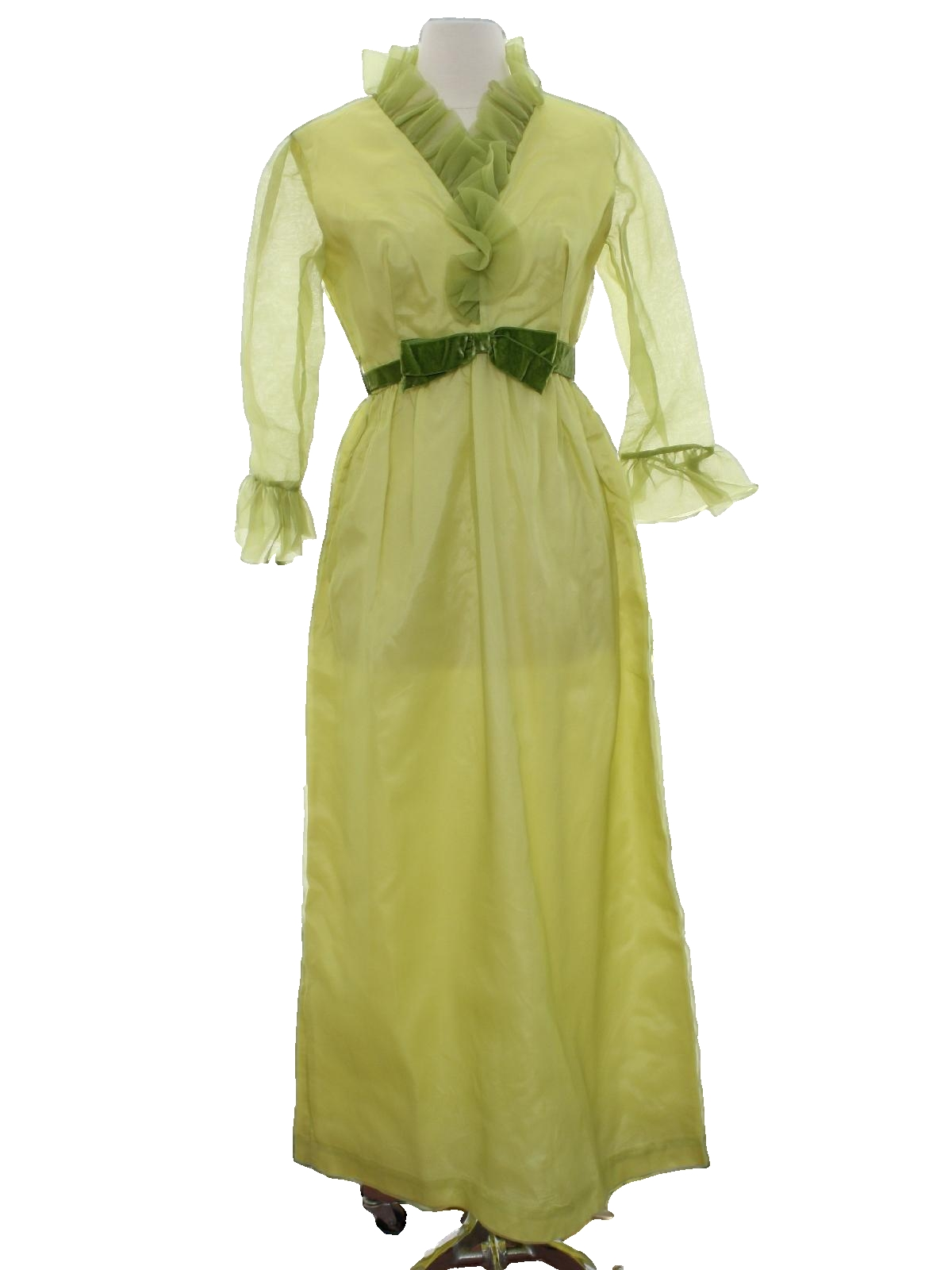 1960s retro cocktail dress late 60s or early 70s lorrie deb san 1960s retro cocktail dress late 60s or early 70s lorrie deb san francisco womens soft avocado green and greenish yellow background polyester acetate ombrellifo Images