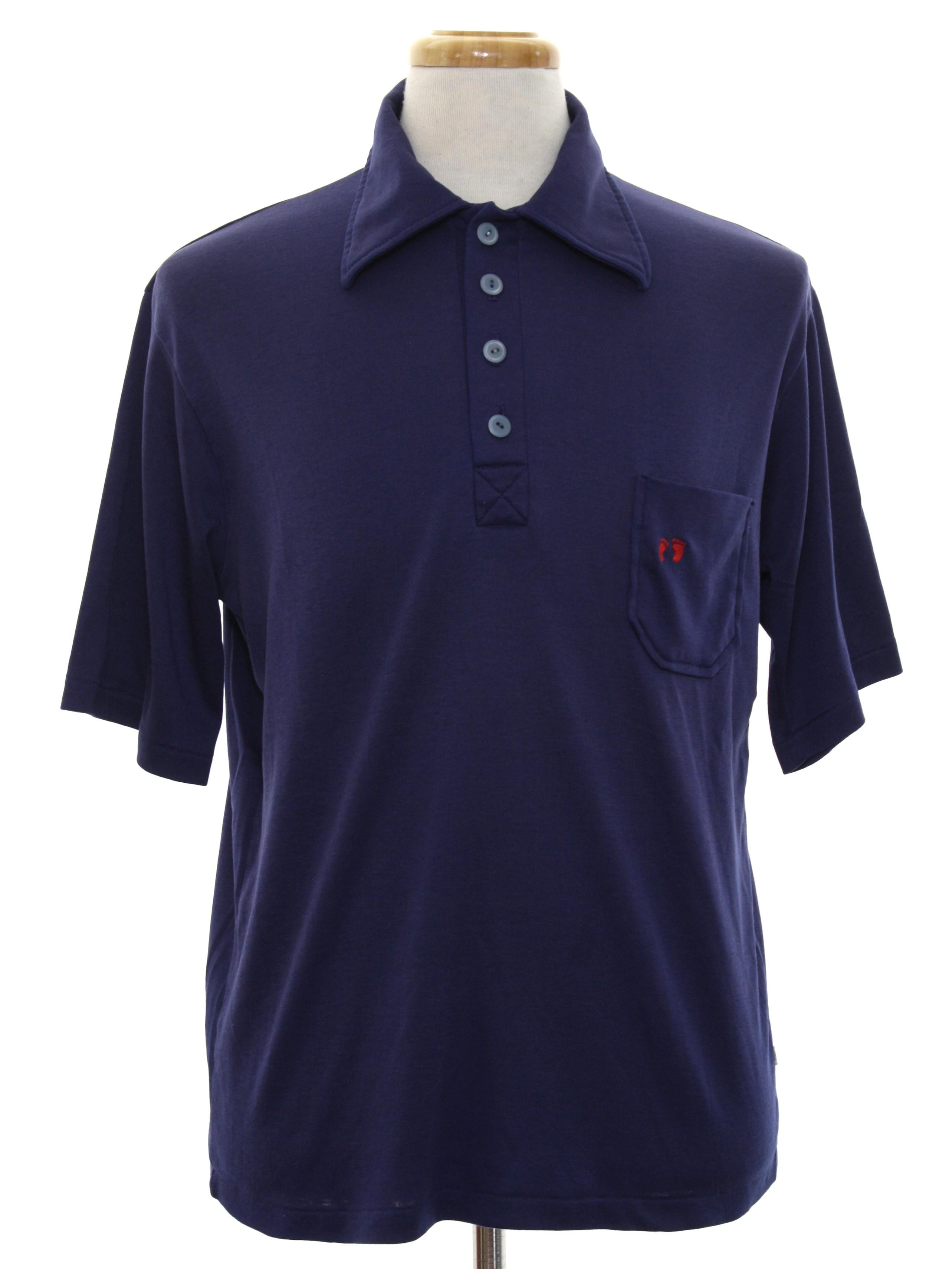 08521276 70s Vintage Hang Ten Shirt: Late 70s or Early 80s -Hang Ten- Mens ...