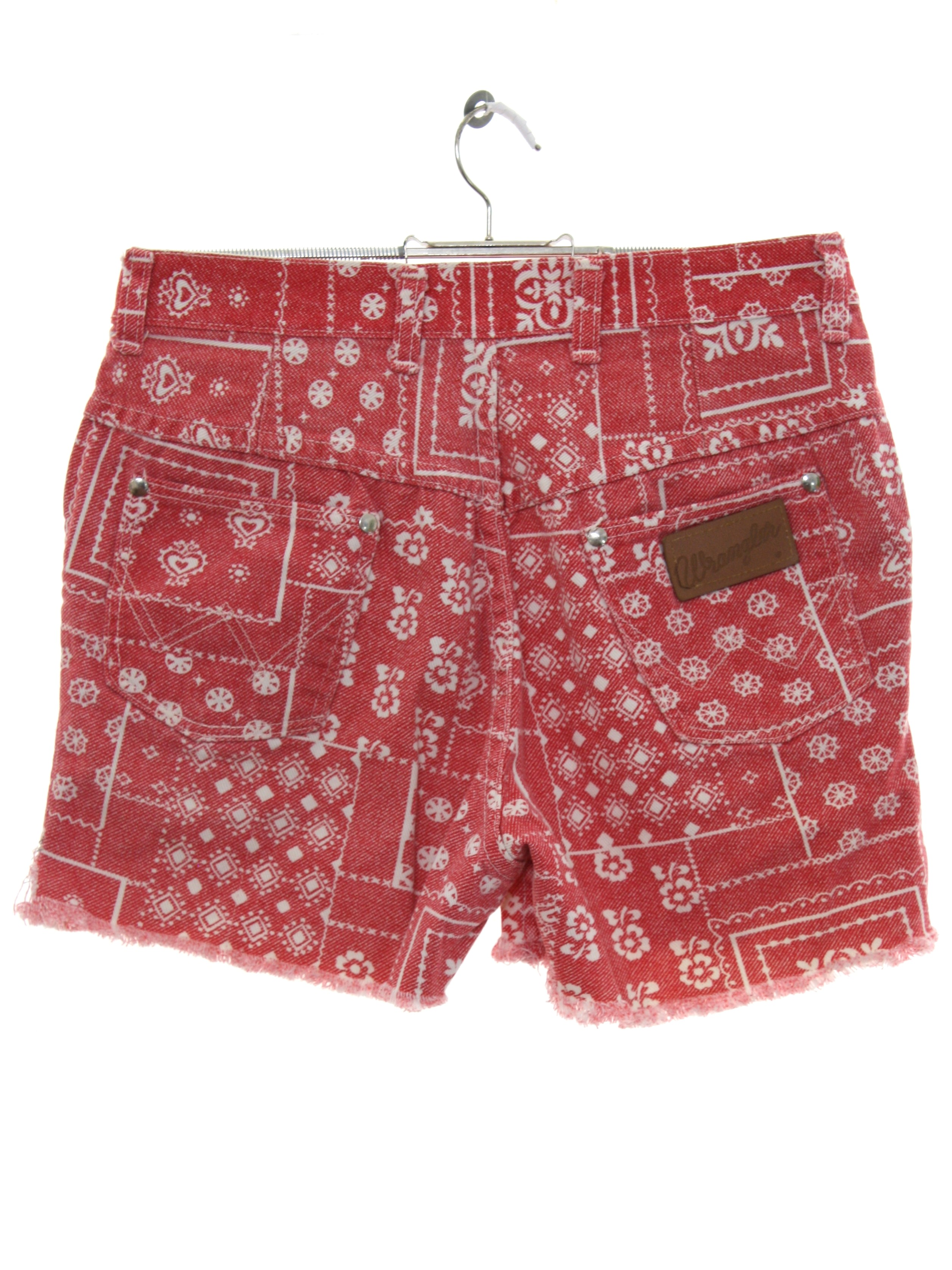880ffb5fde 1980's Wrangler Womens Totally 80s High Waisted Denim Shorts