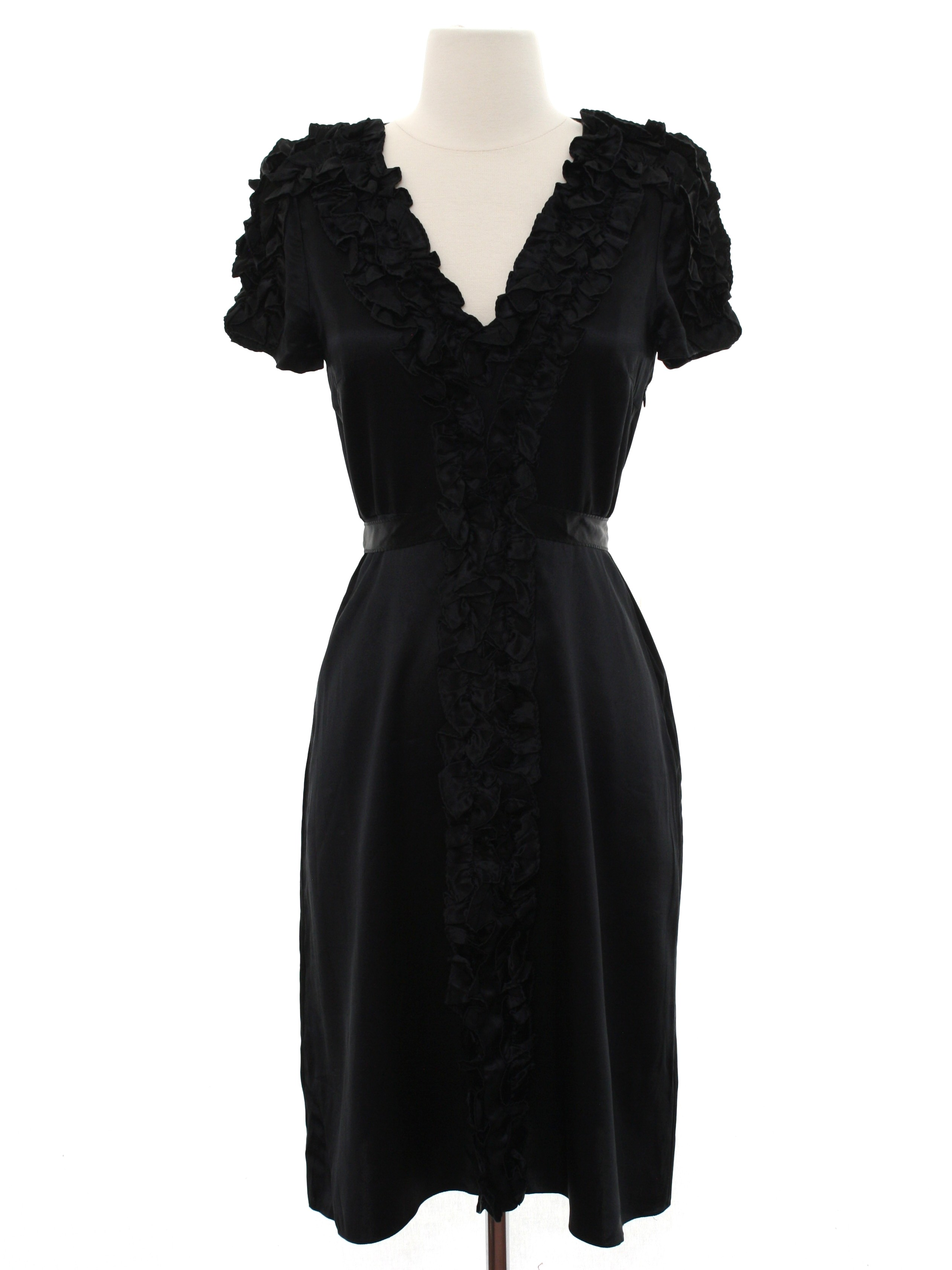 Retro 1940\'s Cocktail Dress (Betsy Johnson designer) : 40s style ...