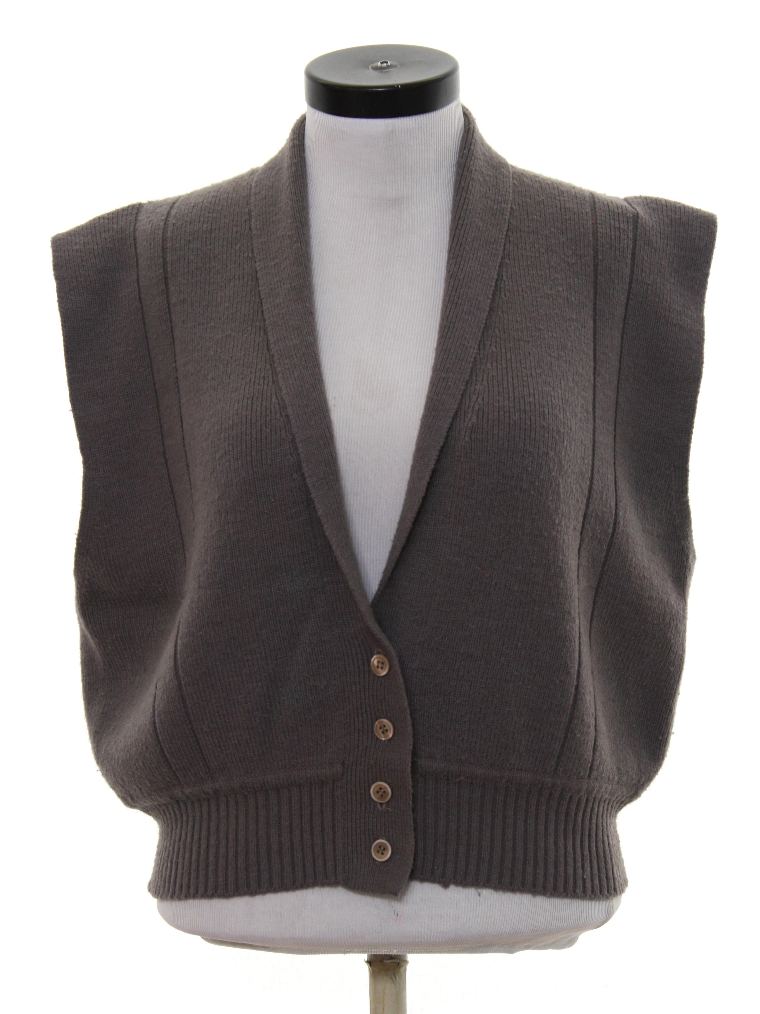 1980's Vintage Tan Jan Sweater: 80s -Tan Jan- Womens grey ...