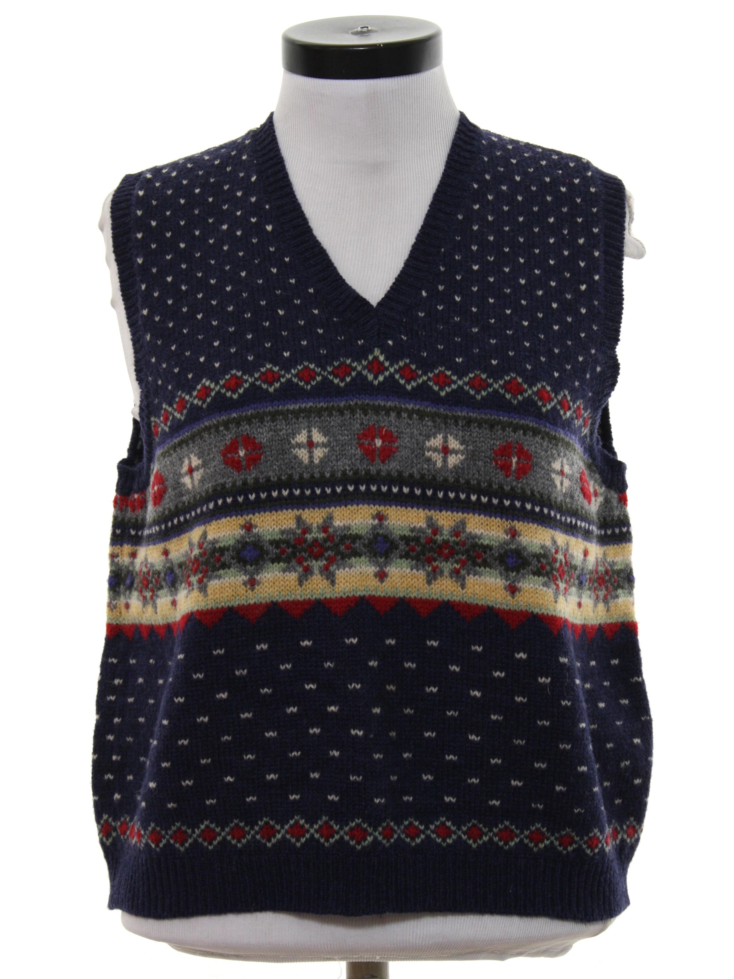 90s Sweater (Eddie Bauer): 90s -Eddie Bauer- Womens midnight blue ...