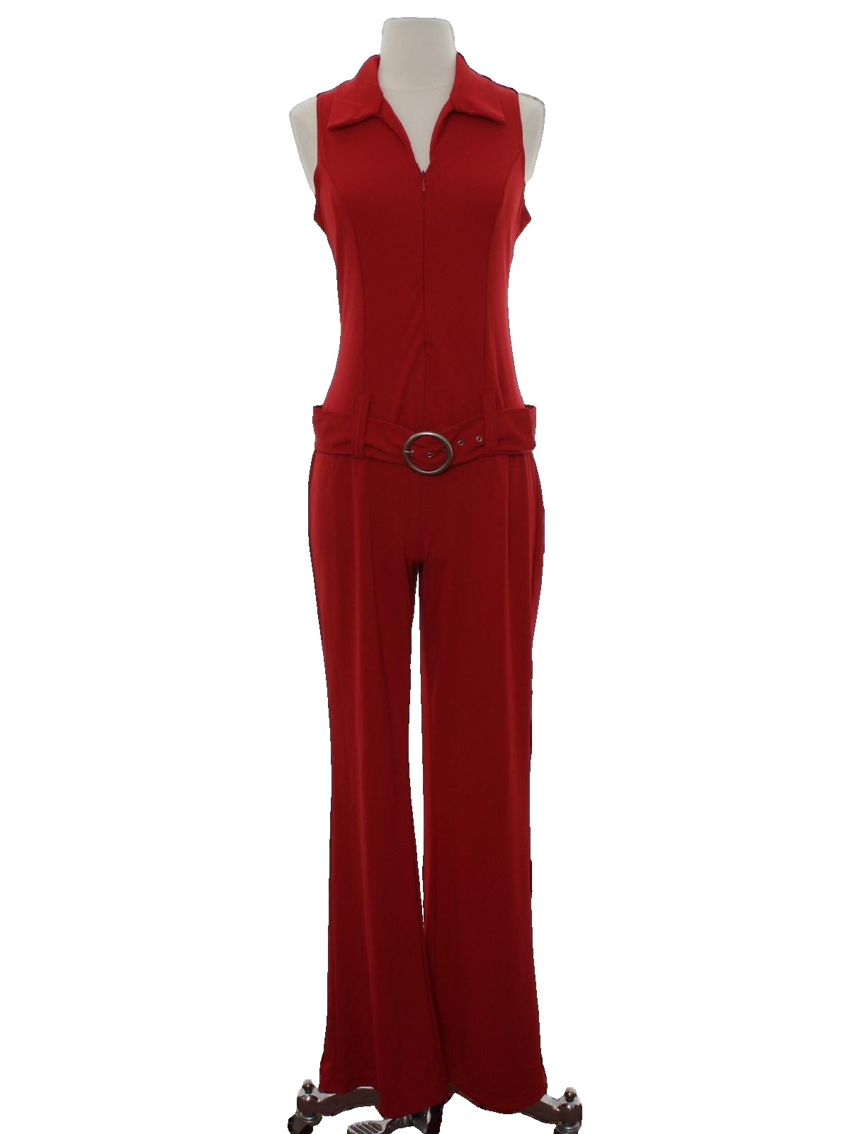 e6c17f71622 Nineties Vintage Suit  90s -Venus- Womens red background polyester ...