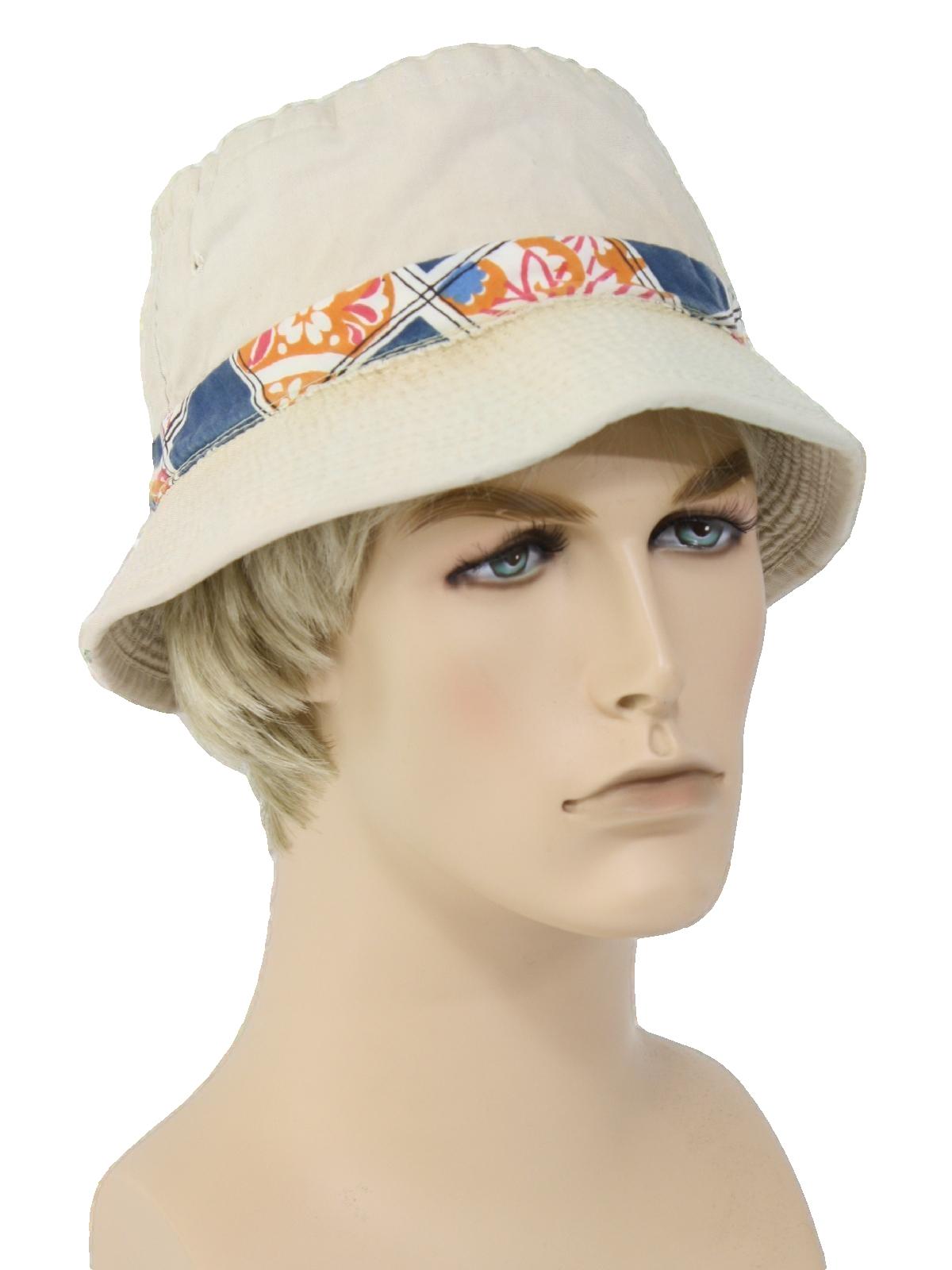 827ef733ee4 1980 s Vintage Made in Korea Hat  80s -Made in Korea- Mens light ...