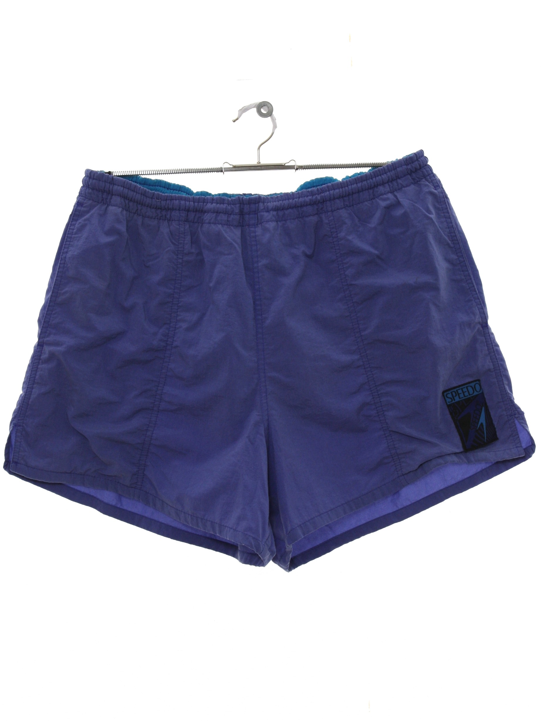 24547194dd Nineties Vintage Swimsuit/Swimwear: 90s -Speedo- Mens periwinkle ...