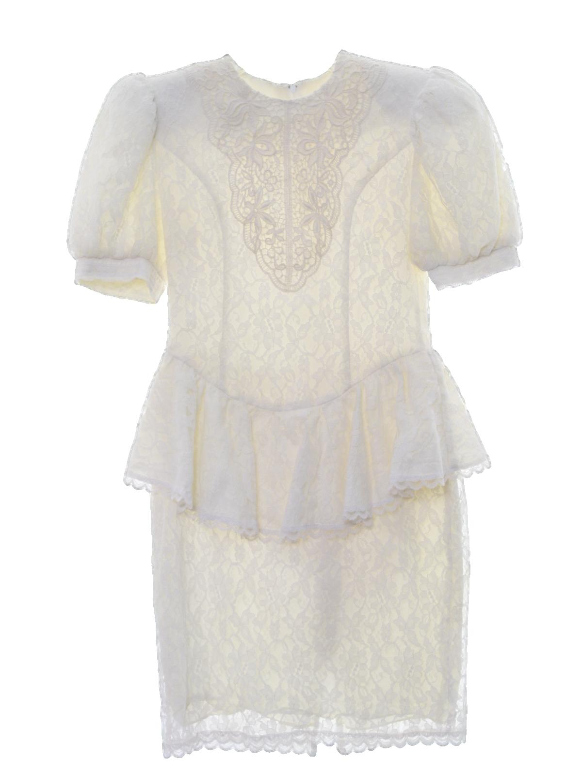 Retro 80\'s Cocktail Dress: 80s -Gunne Sax by Jessica McClintock ...