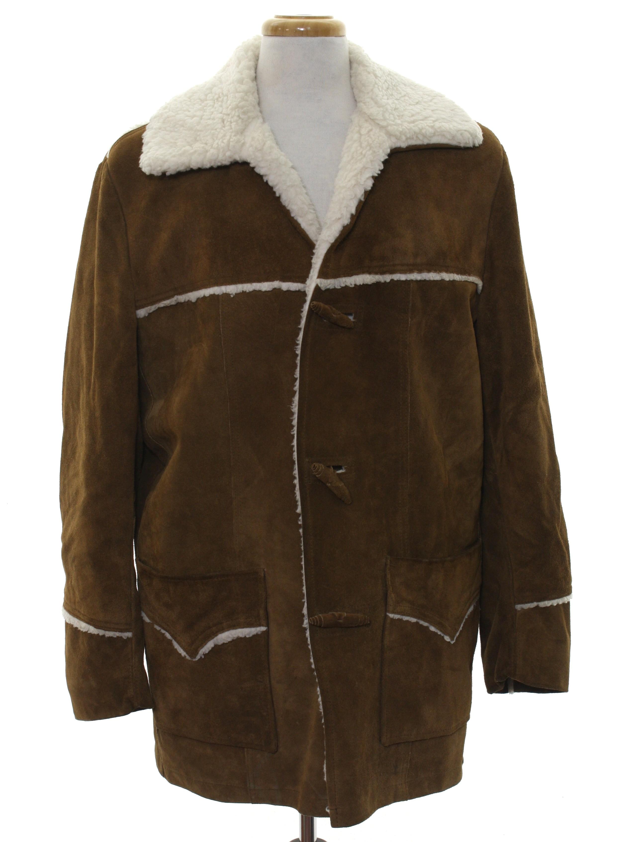 8add427ef99 70 s Pioneer Wear Leather Jacket  70s -Pioneer Wear- Mens brown ...
