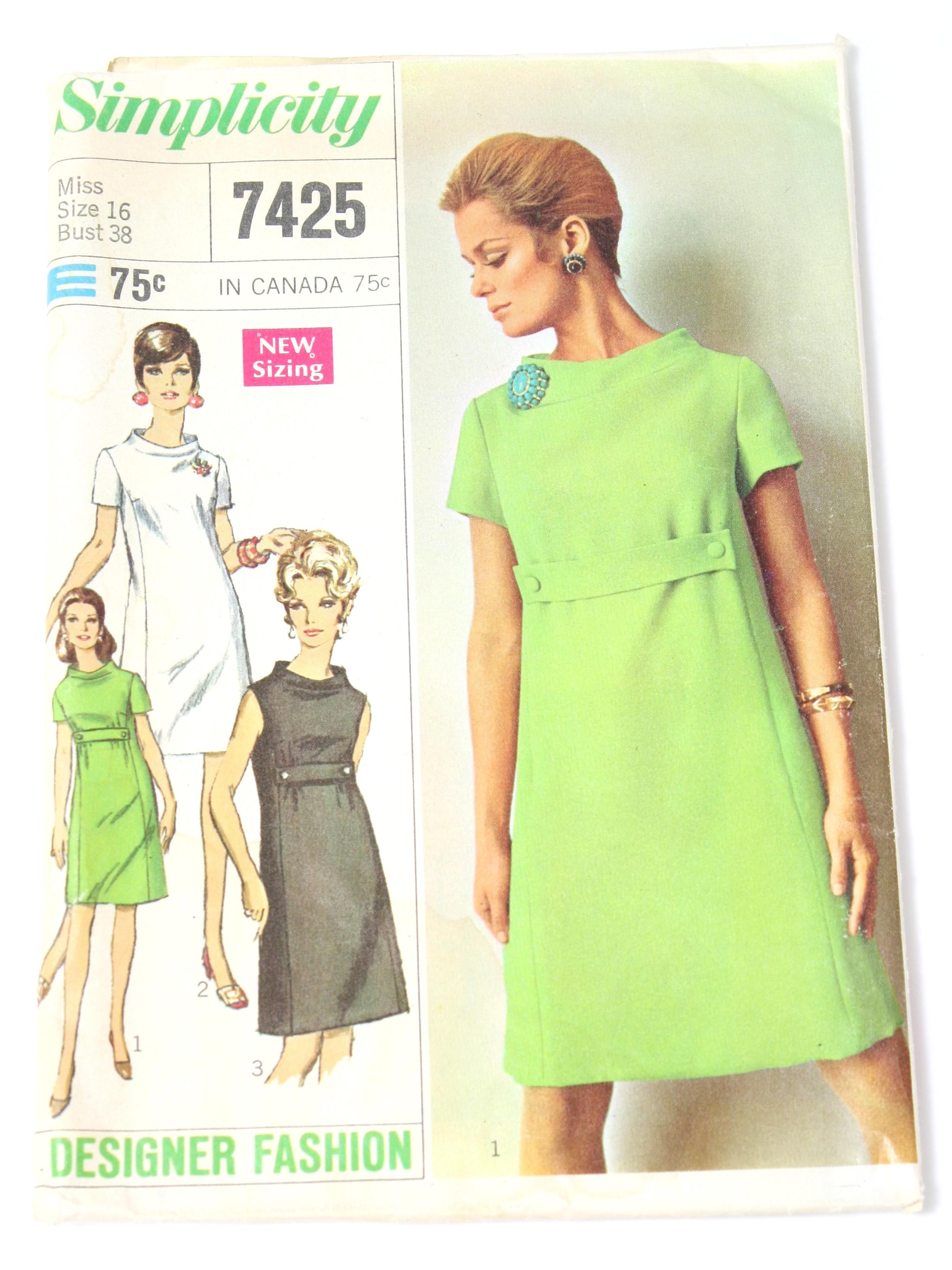 1960s Dress Patterns Unique Inspiration Ideas