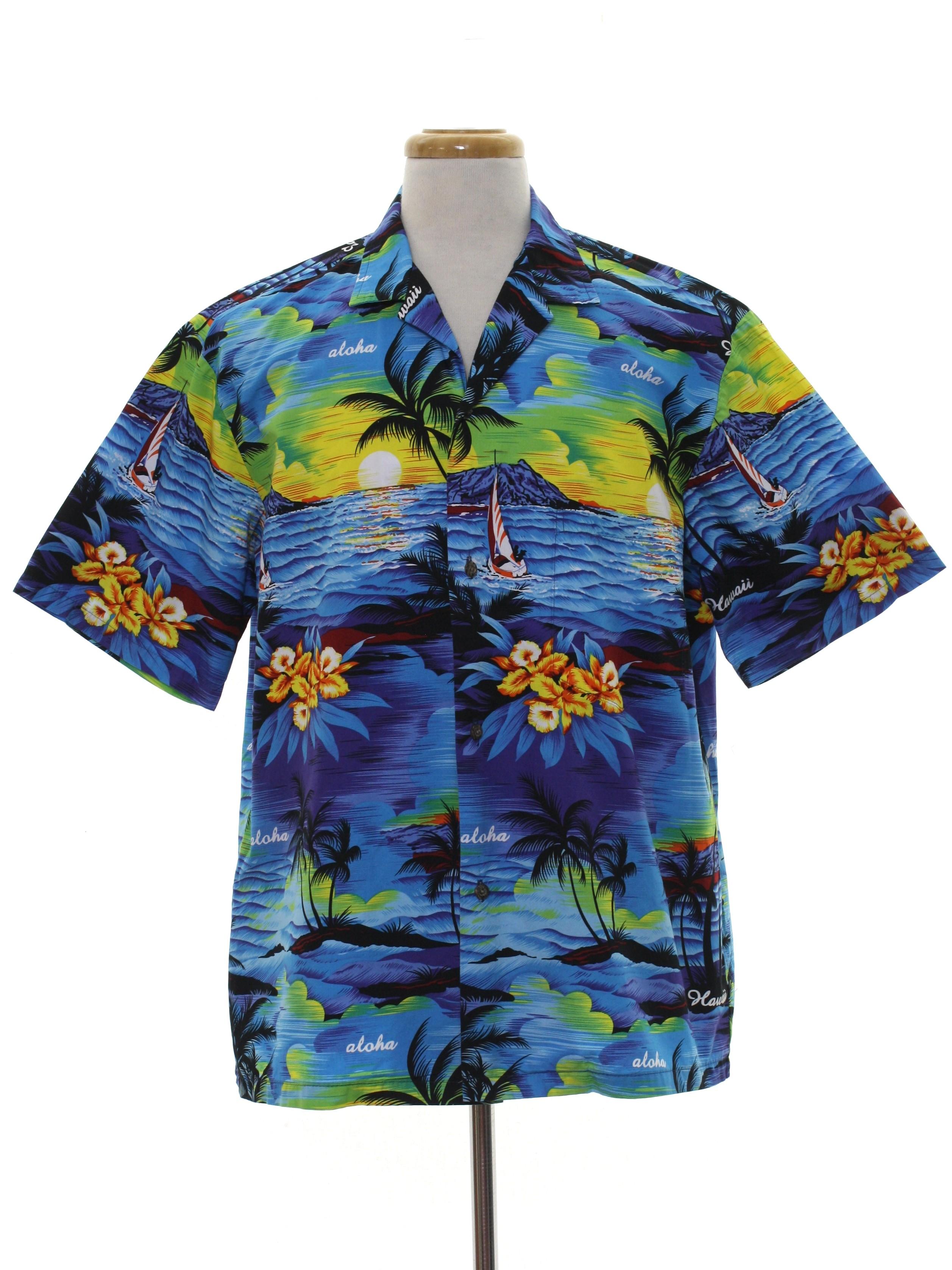 4ae8897a 80s Vintage Royal Creations Made in Hawaii Hawaiian Shirt: 80s ...