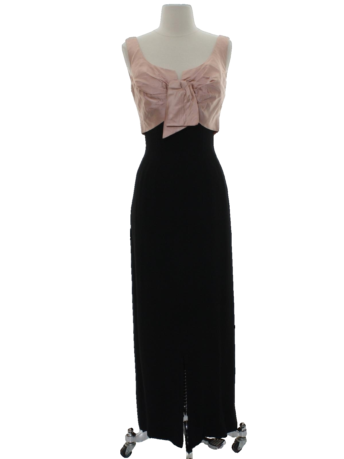Retro 50s Cocktail Dress (Missing Label) : 50s -Missing Label ...