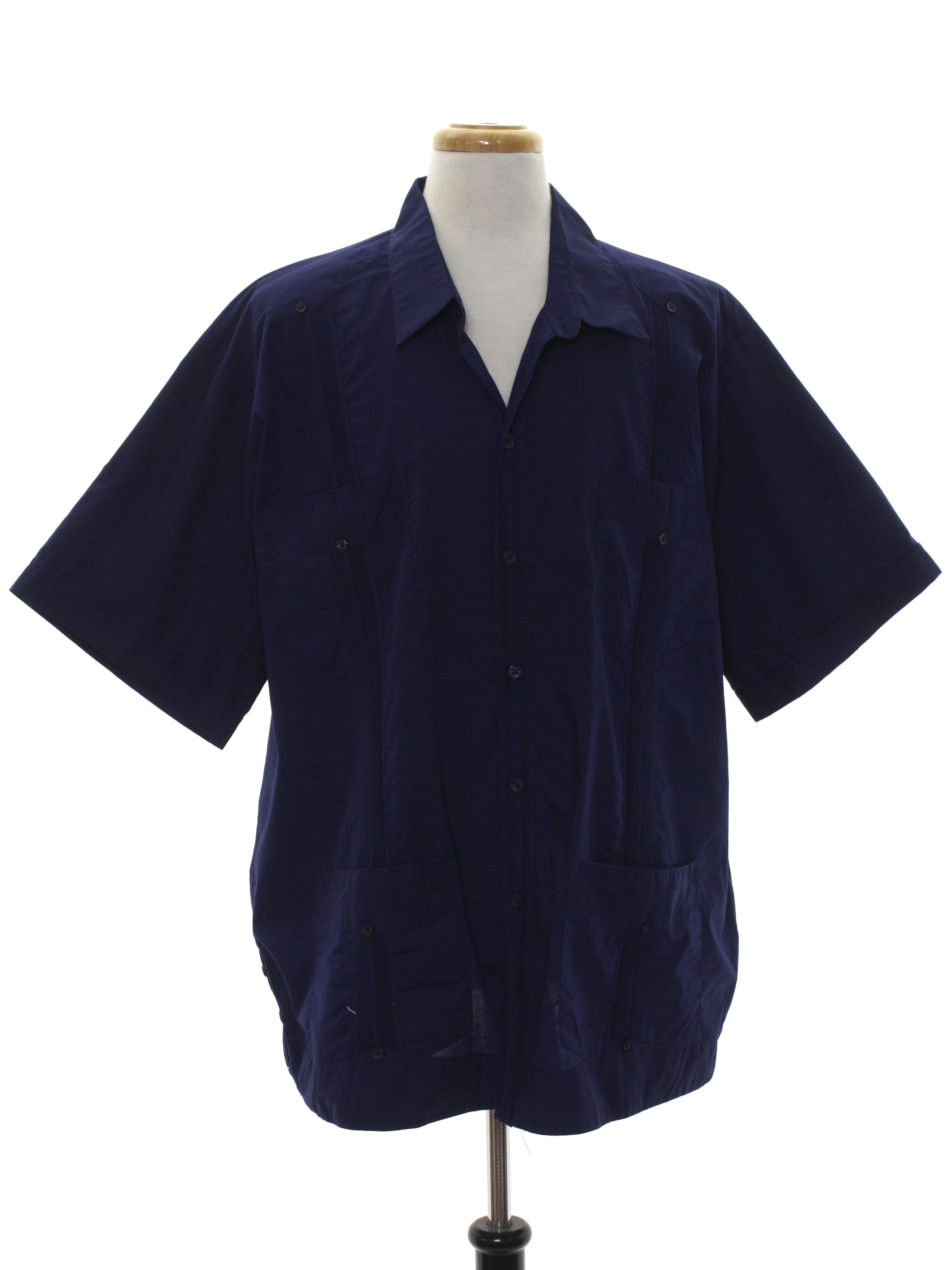 f8702b15c4 80 s Guayaberas Yucatecas Guayabera Shirt  80s -Guayaberas Yucatecas ...