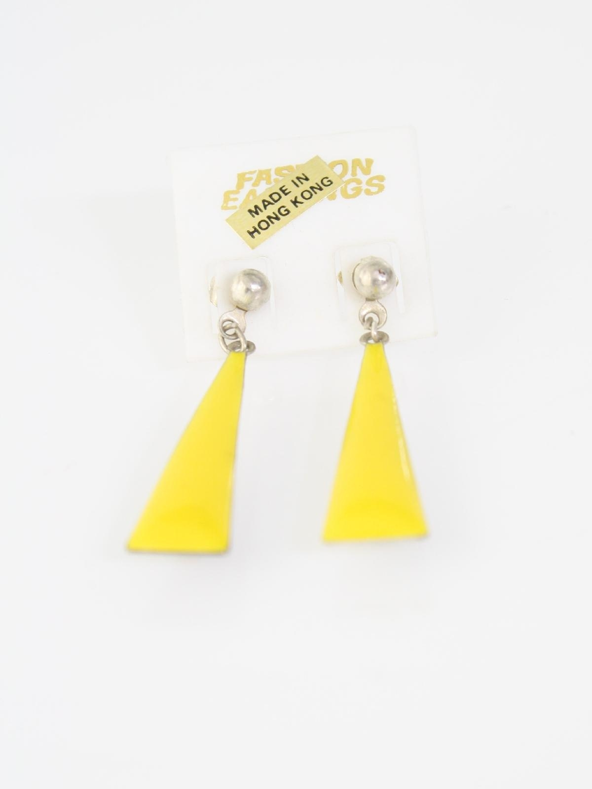 1980 S Made In Hong Kong Womens Jewelry Totally 80s Earrings 8 00 Not Stock Item No 343486 N1261