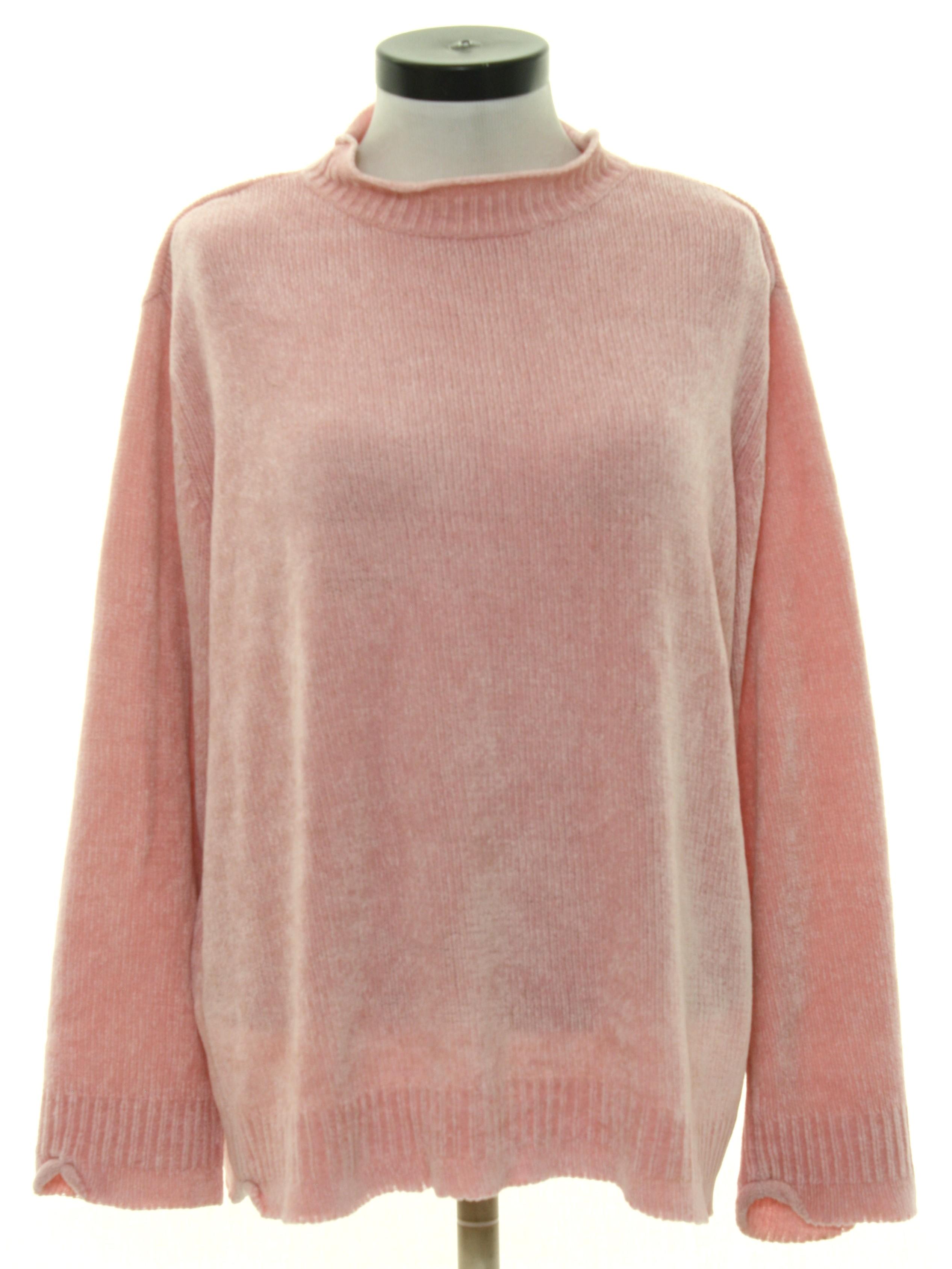 f60af22193 90 s Villager Sport Sweater  90s -Villager Sport- Womens light pink ...