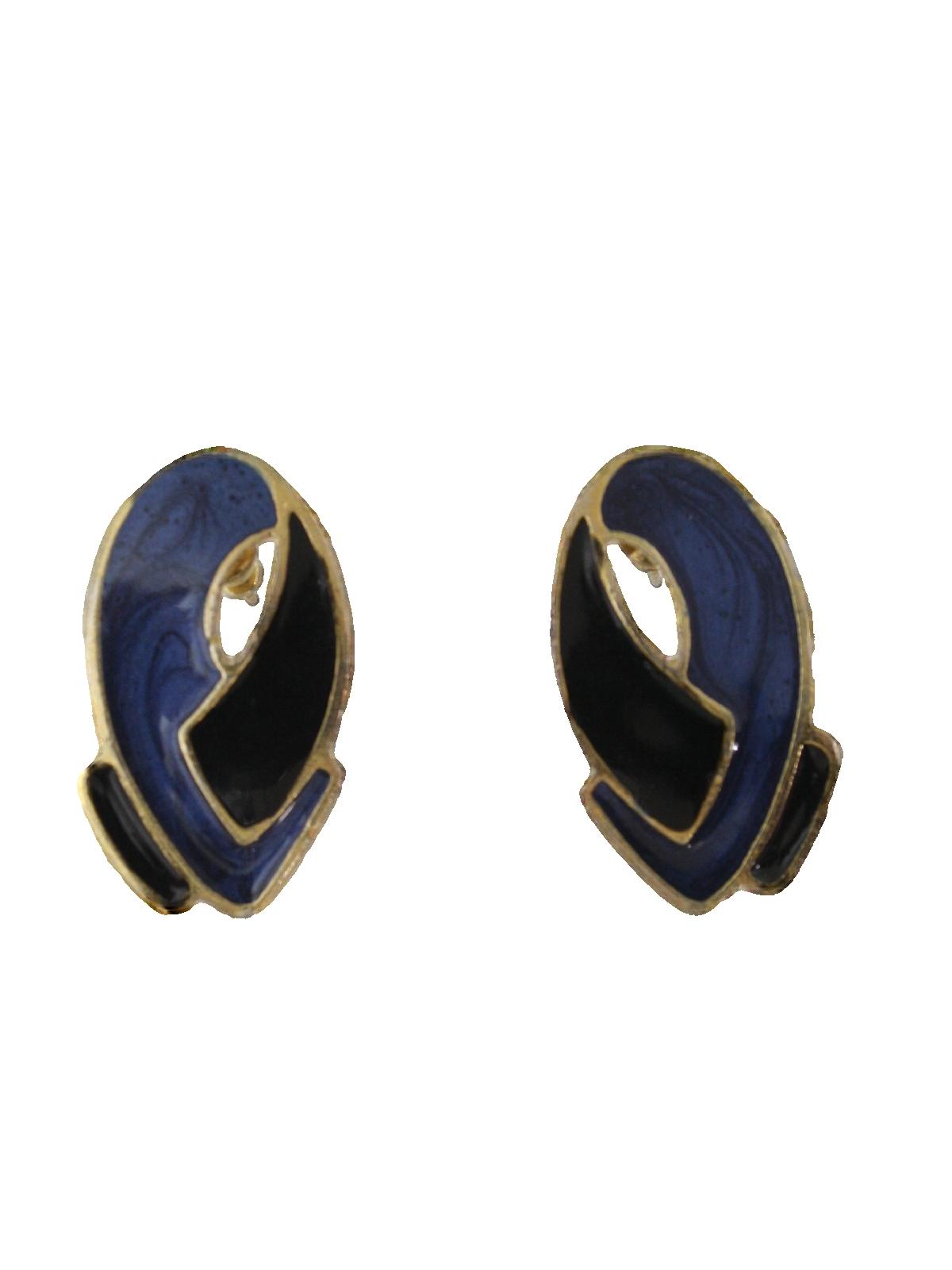 05c1bbdbc900b 1980's Womens Jewelry Totally 80s Earrings