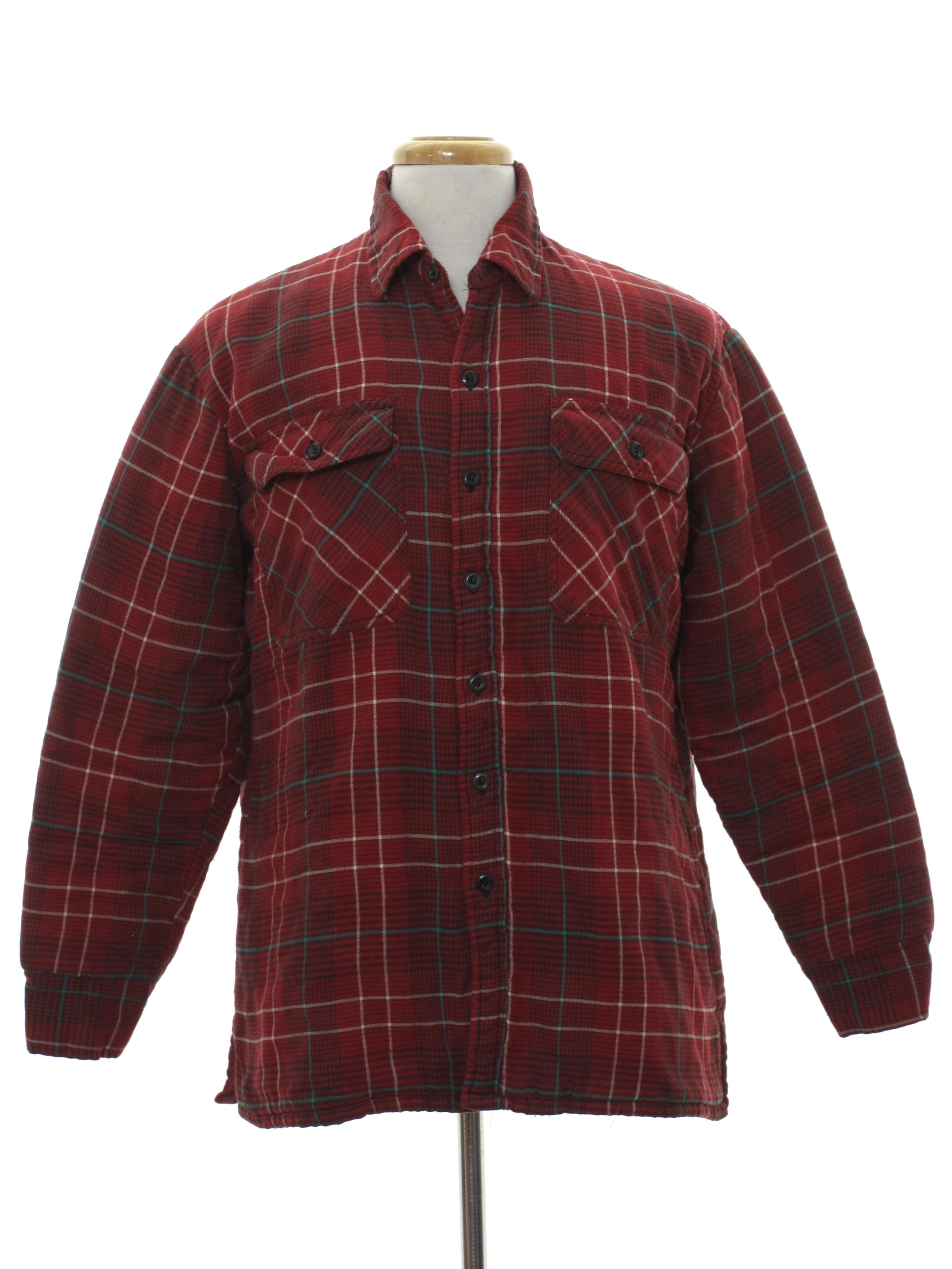 Vintage Soft Cotton Plaid Shirt