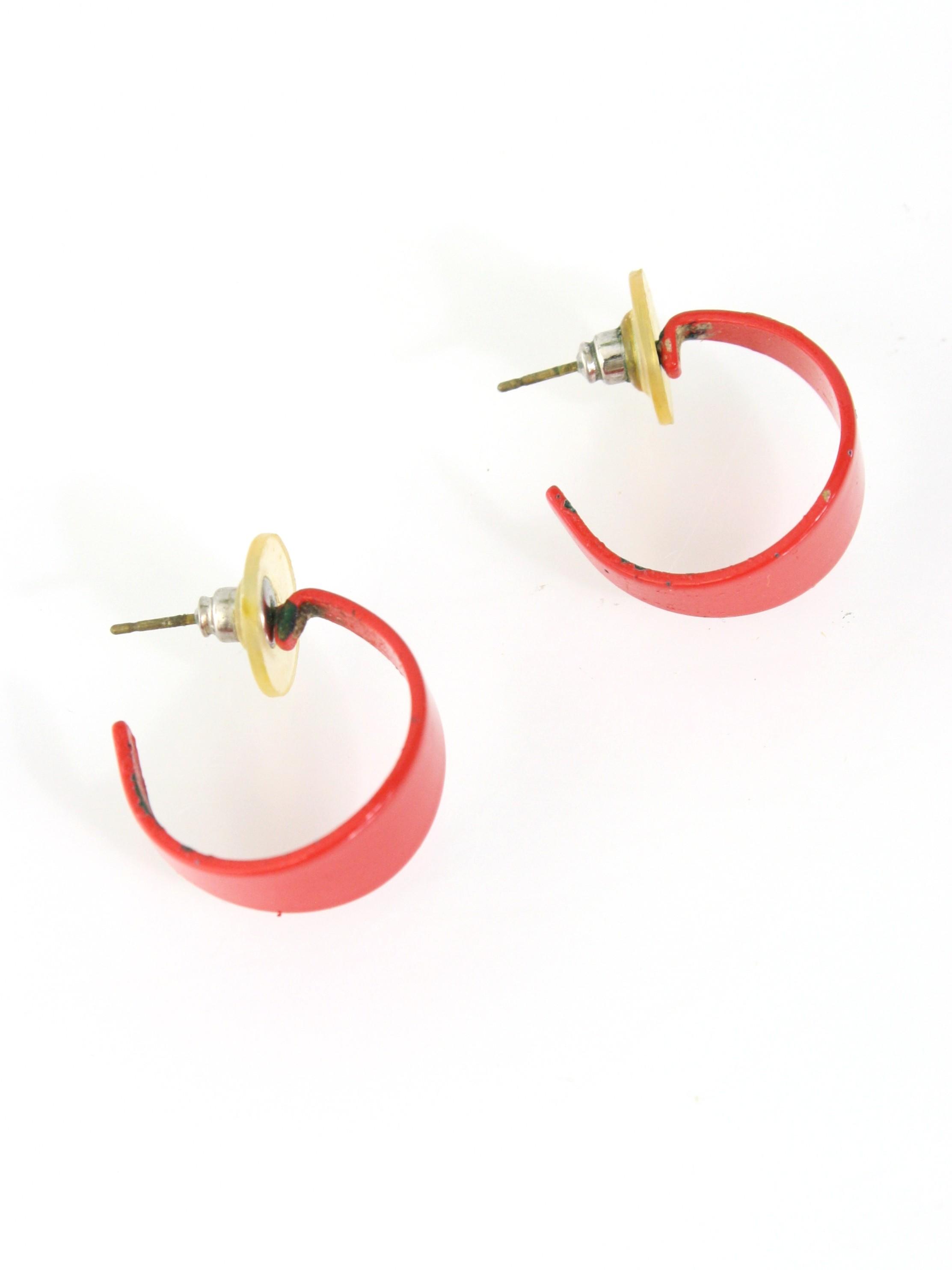 631f7e48d011d 1980's Womens Totally 80s Earrings