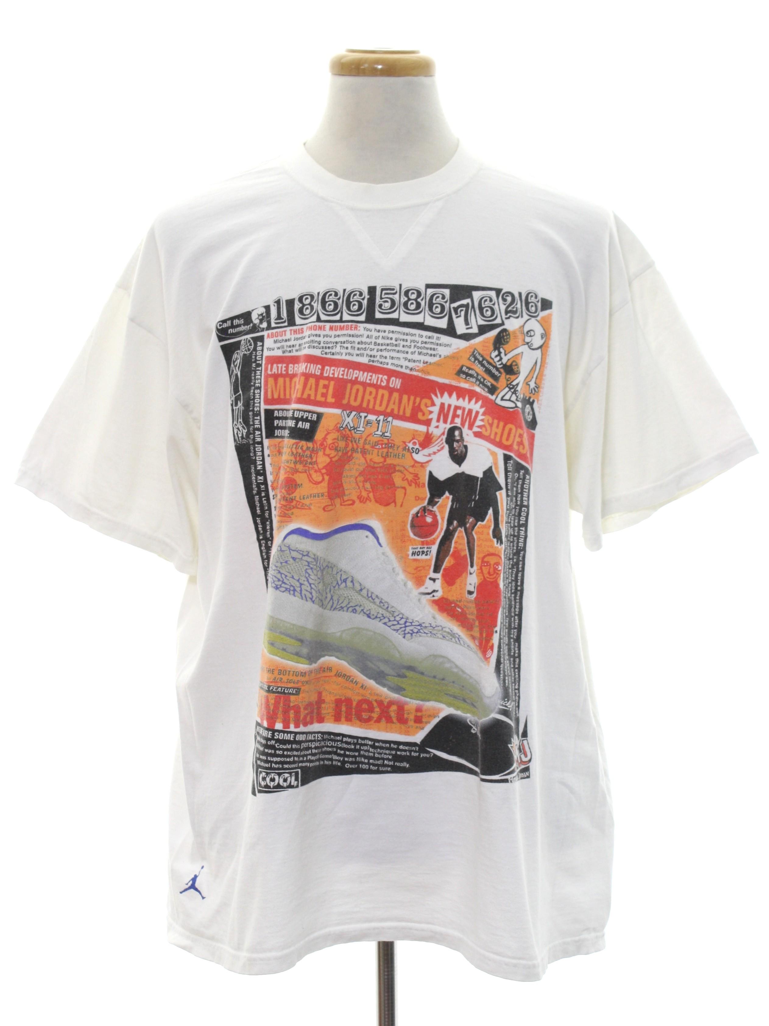 5f1f5e9994581f Retro 1990 s T Shirt (Nike)   90s -Nike- Unisex white background ...