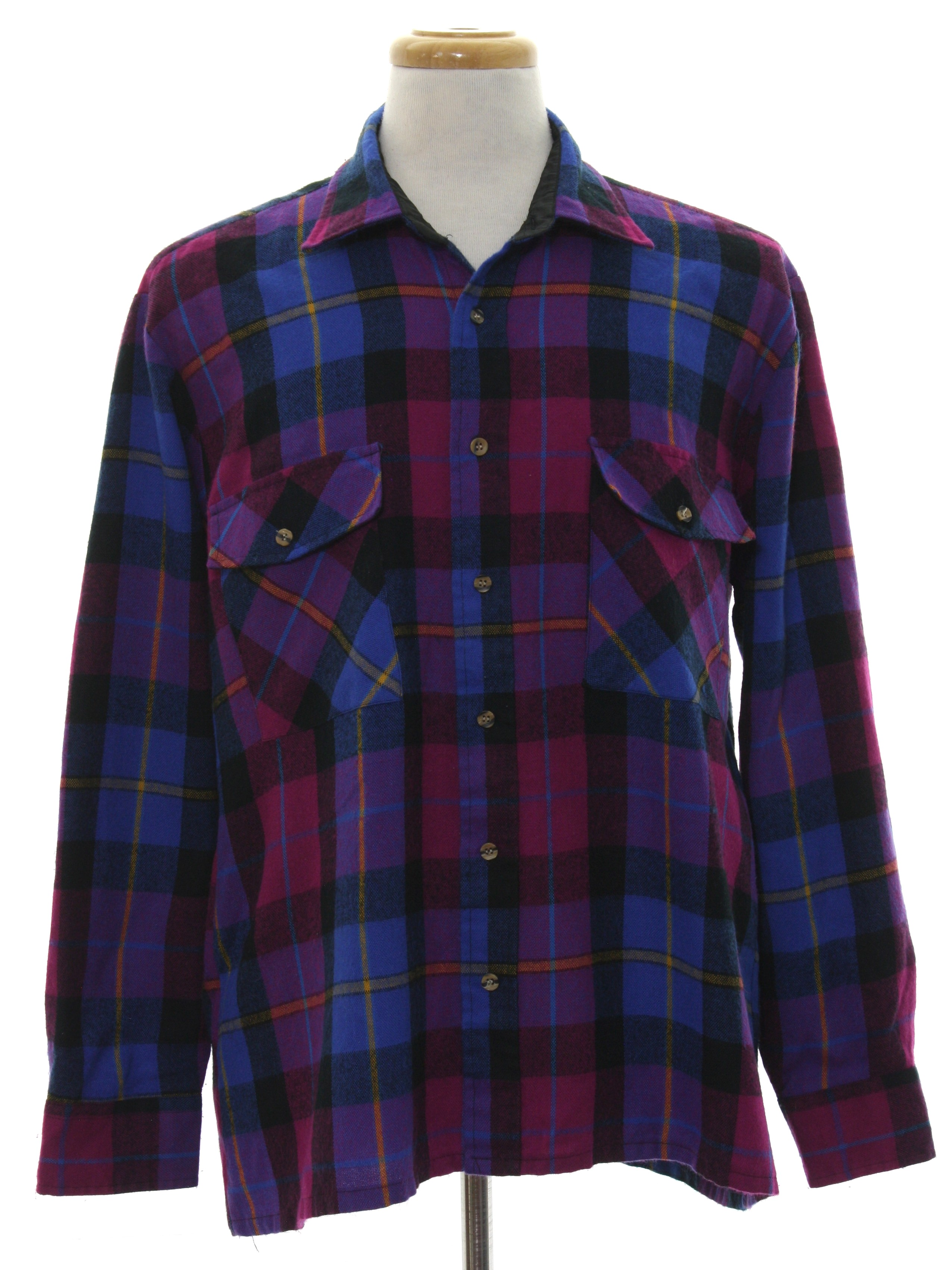 Retro 1980s Shirt Late 80s Or Early 90s Backpacker Outdoors Mens