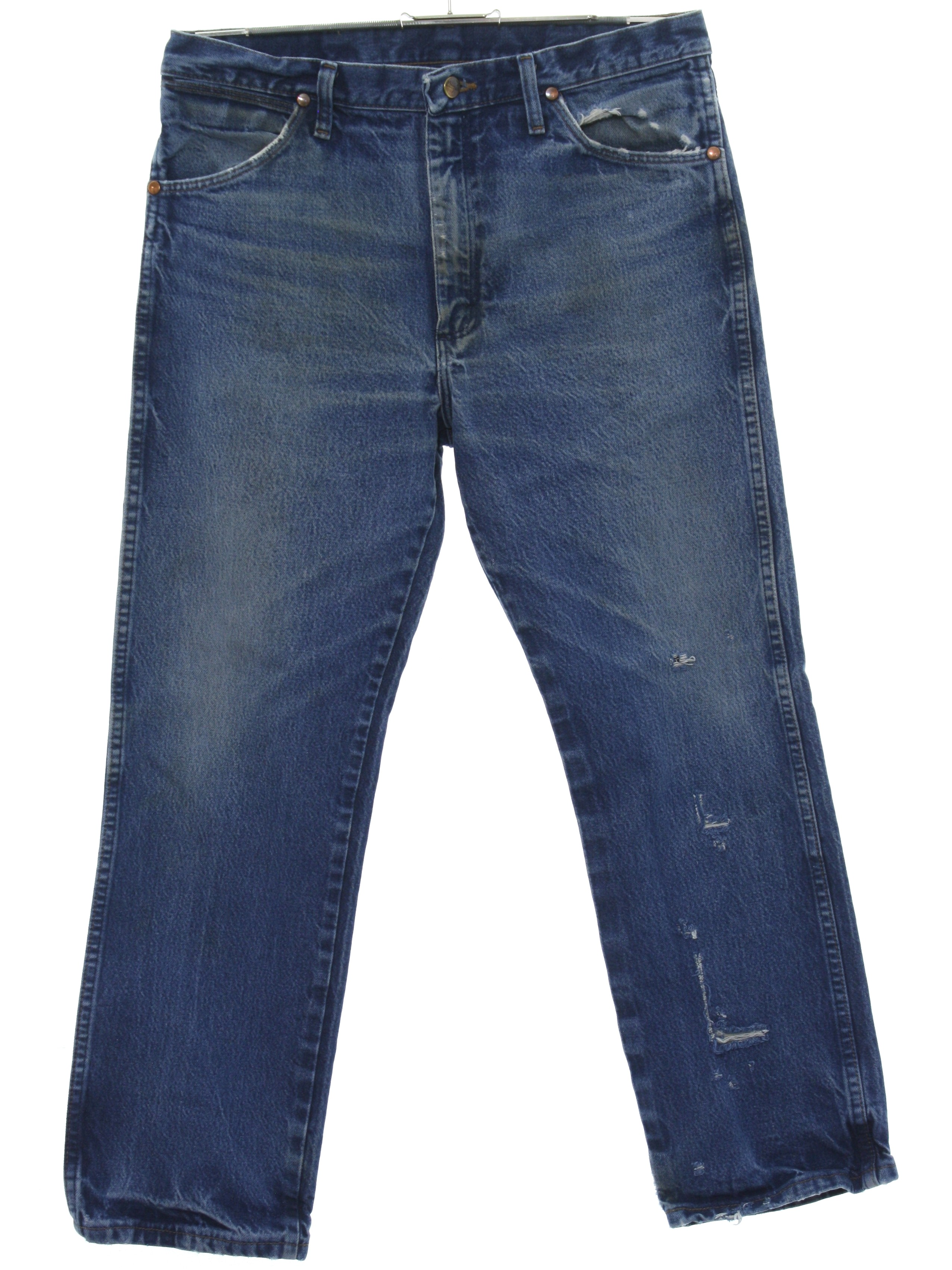 7454a4417a 1990's Wrangler Mens Grunge Denim Jeans Pants $28.00 In stock. Item No.  347241