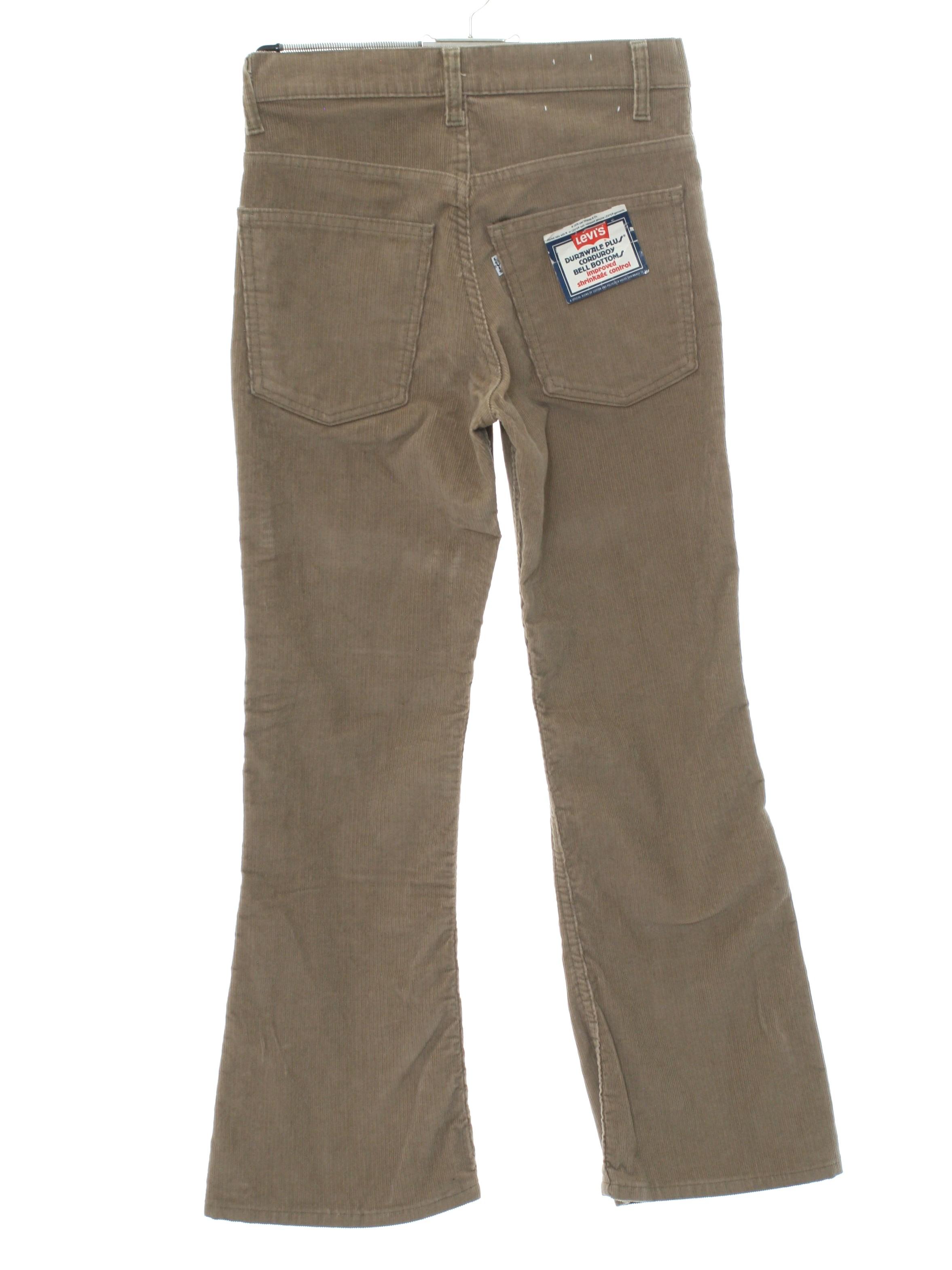 in stock new authentic reliable reputation 1970's Levis Durawale Plus 646 Levis Durwale 646 Unisex Levis Rare 646  Bellbottom Corduroy Jeans Pants