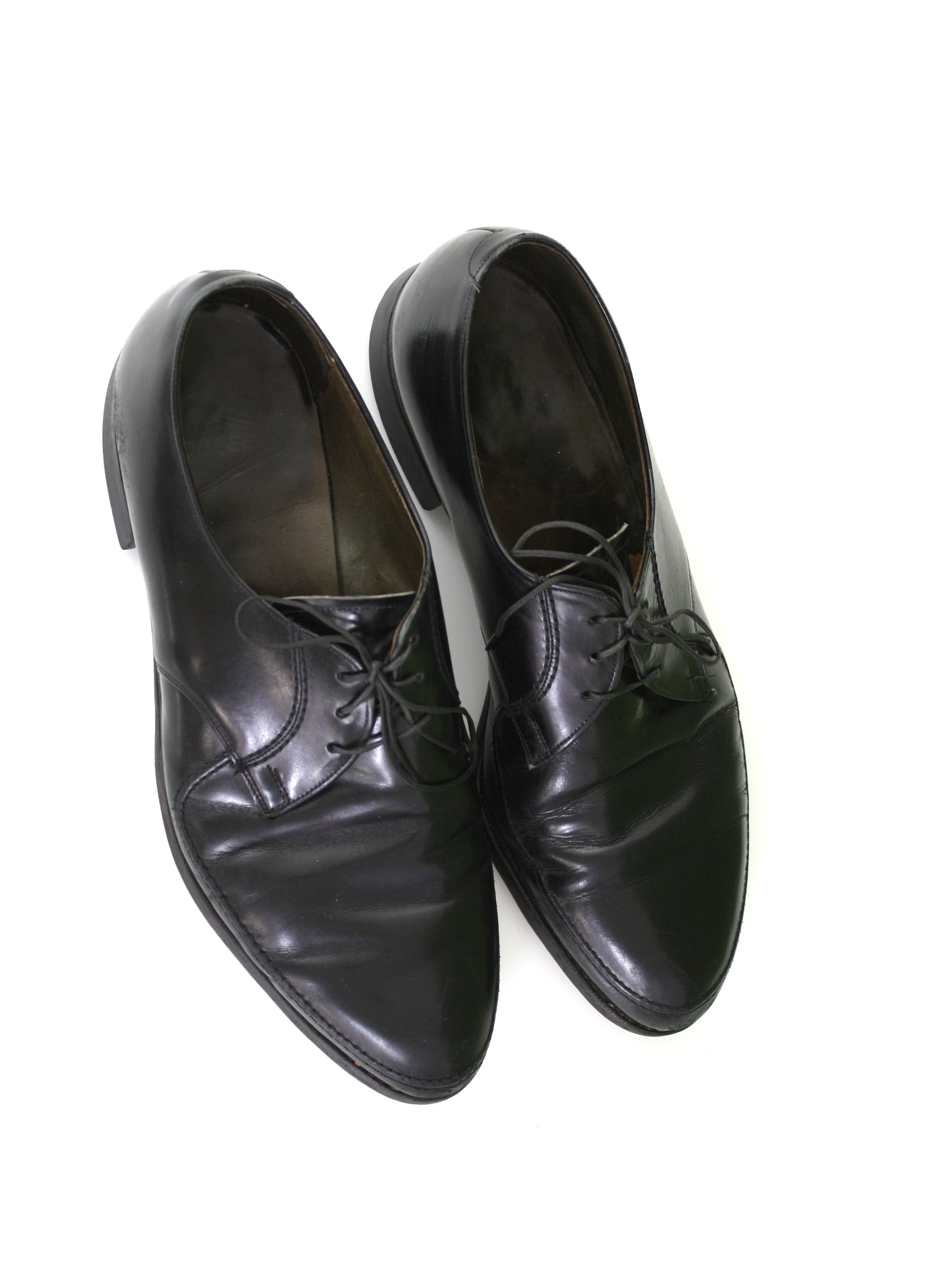 507cc9ccead 1960 s Vintage Roblee Shoes  Early 60s -Roblee- Mens black smooth ...