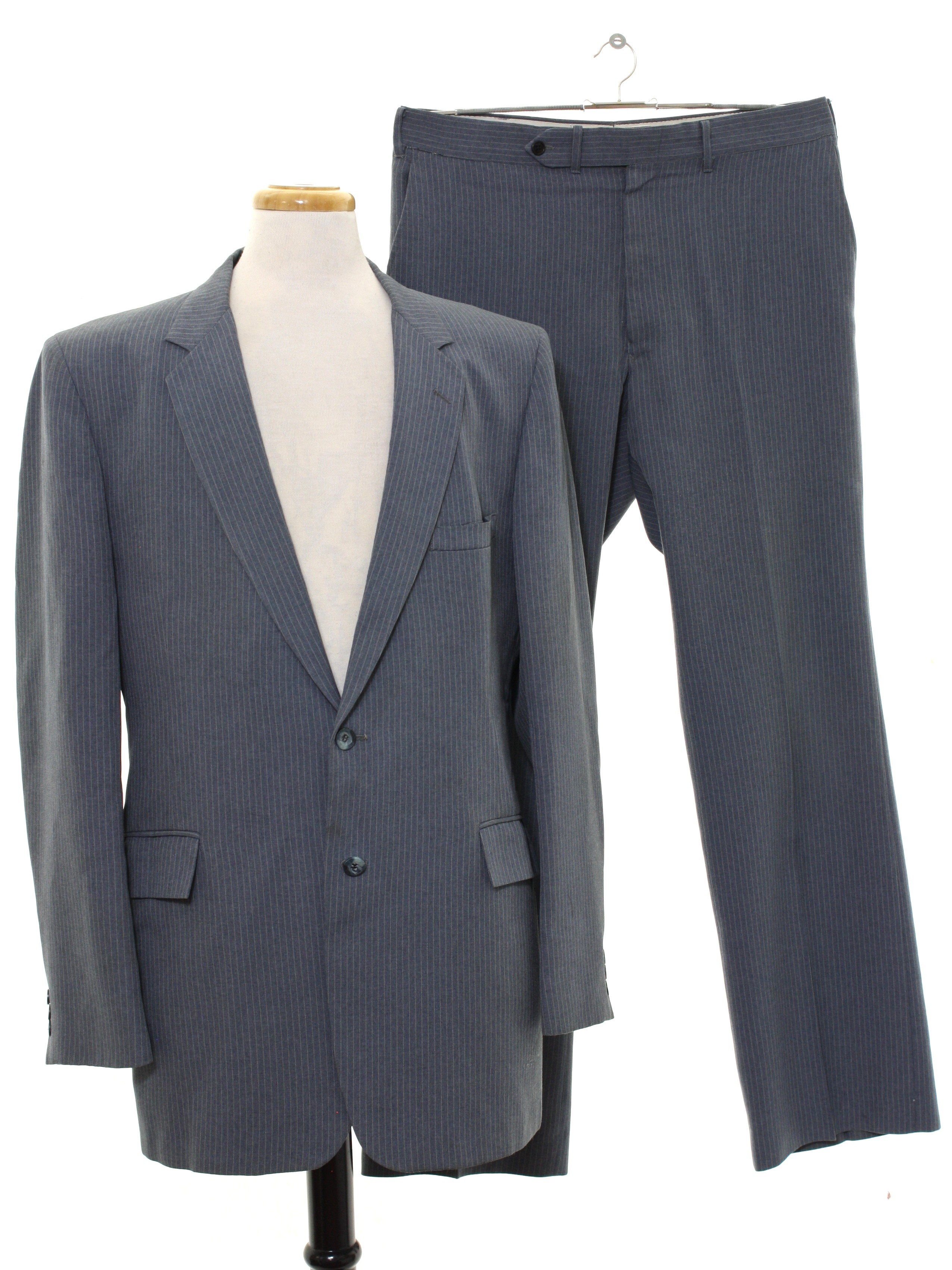 Vintage 70s Disco Suit 70s Fit Well Mens Two Piece