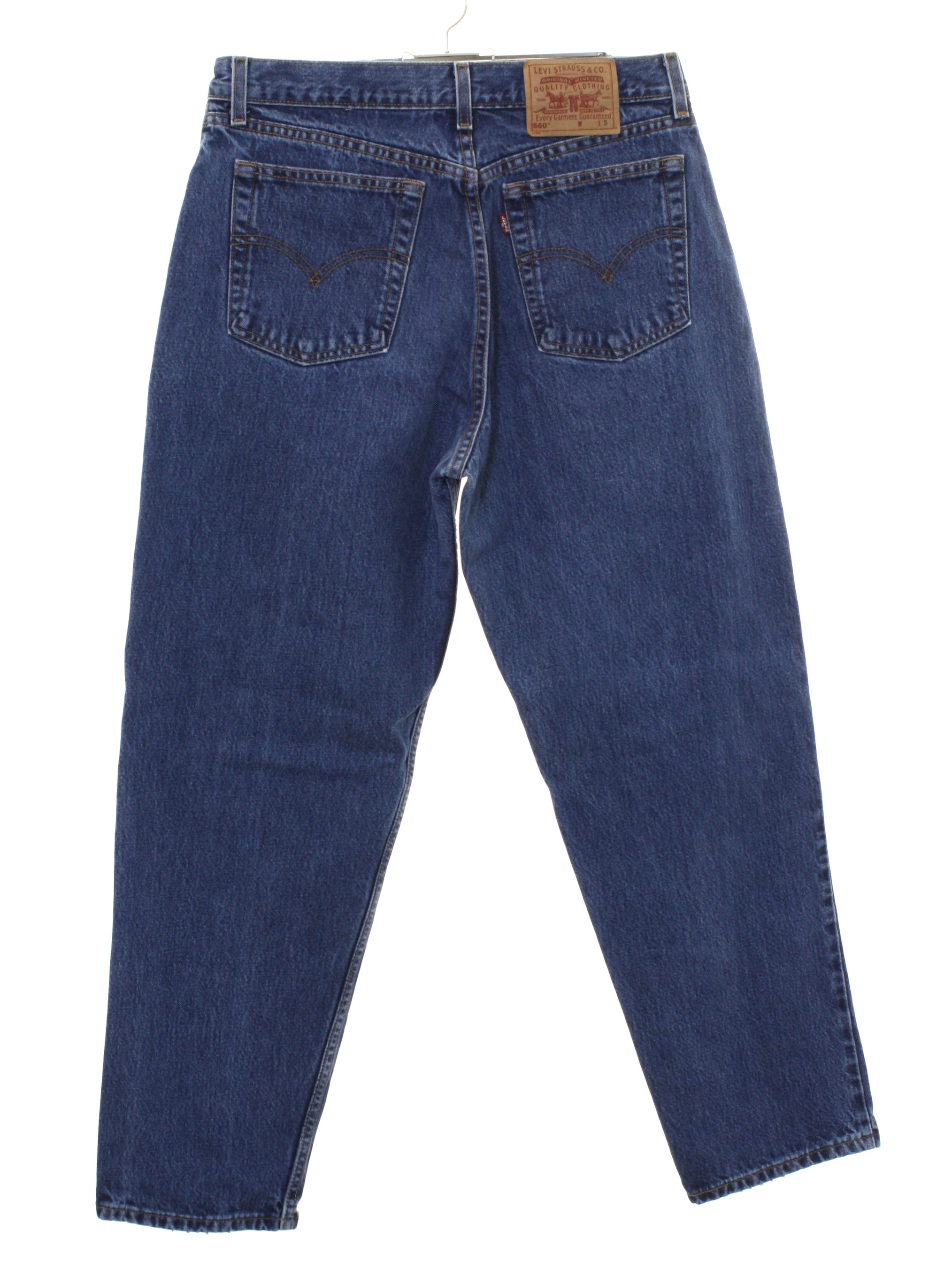 Vintage Levis 560 Nineties Pants 90s Levis 560 Womens Blue Cotton Denim Levis 560 Loose Fit Straight Leg Denim Jeans High Waisted Pants With Zipper Fly Closure With Button Five Pocket Style Our range of women's jeans covers every fit, cut and style for every kind of wardrobe, from our high waisted jeans to relaxed wide leg jeans. 1990 s levis 560 womens levis 560 loose fit straight leg denim highwaisted mom jeans pants