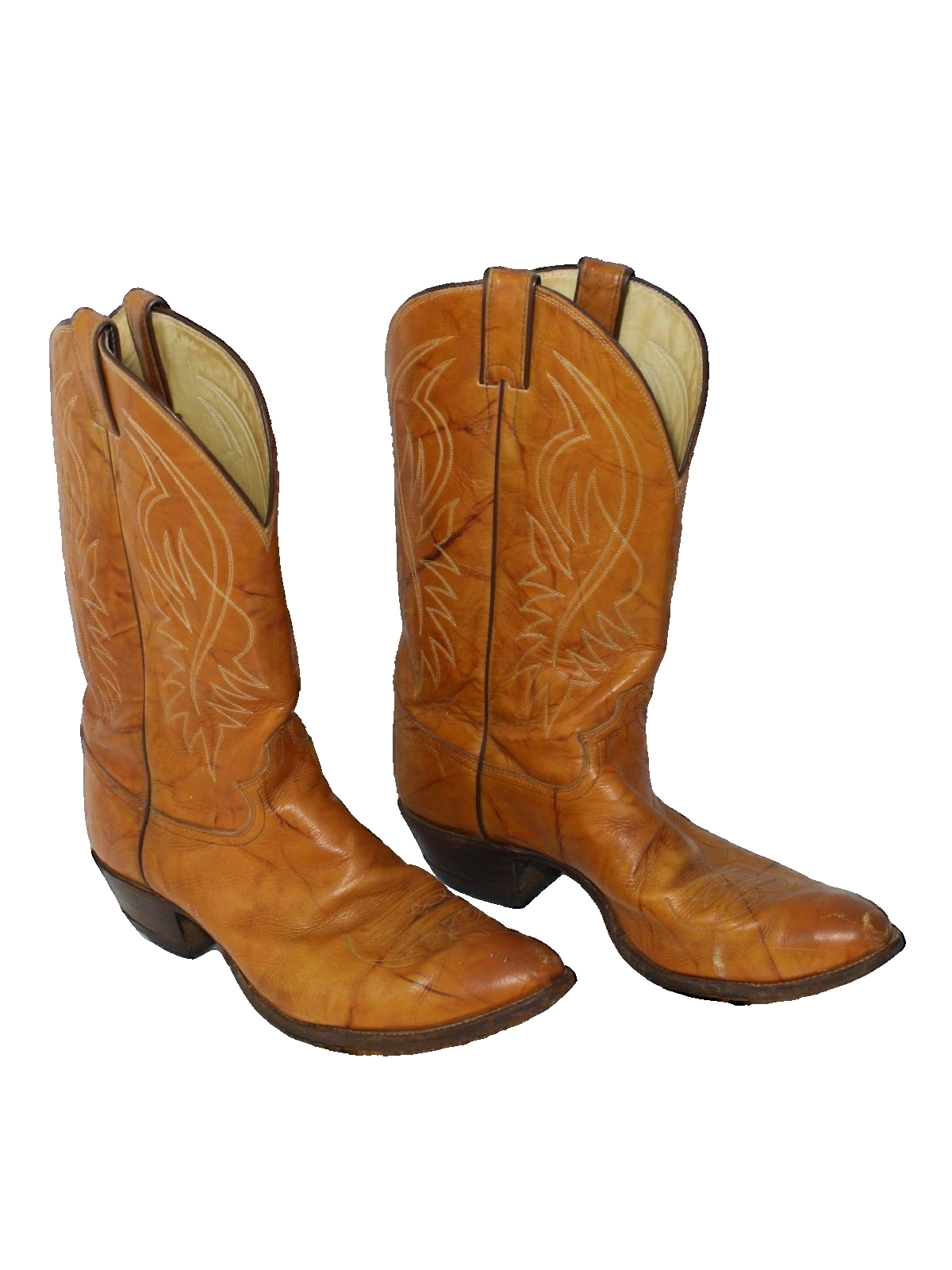 1980\u0027s Justin Made in USA Mens Western Boots Shoes