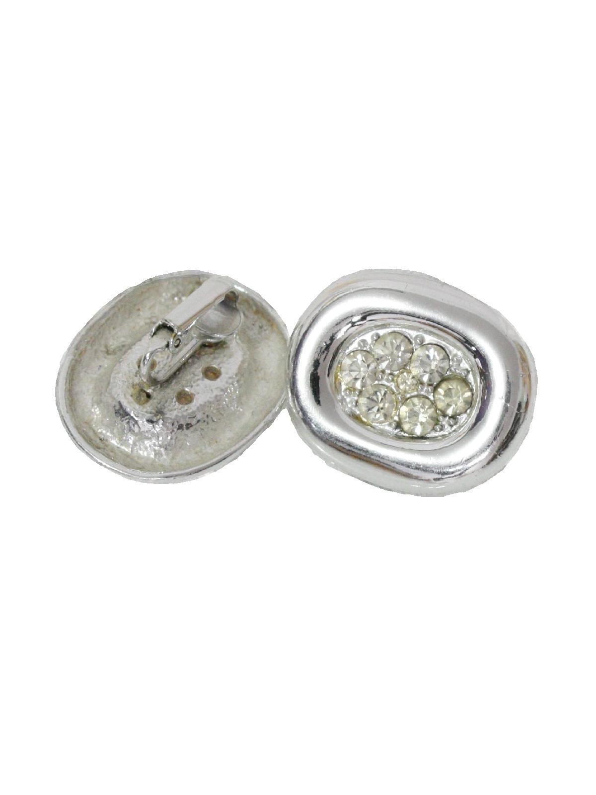 29cdeccf1 Vintage 1960's Ring: 60s -No Label- Womens silver tone, clip ...