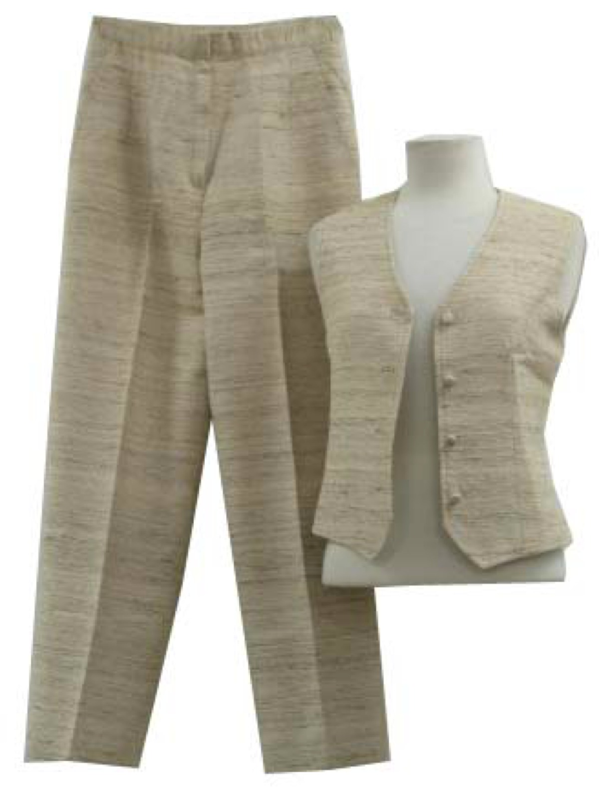 Womens Vest And Pant Suit