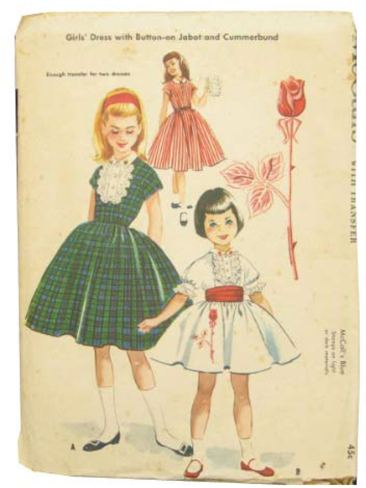 Vintage 1950 S Sewing Pattern 50s Mccalls Pattern No