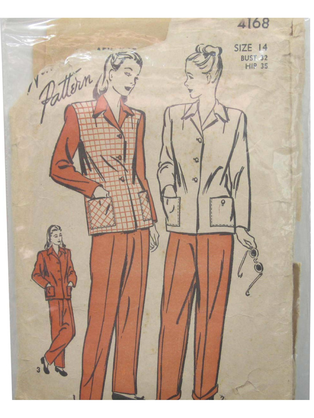1930s vintage advance pattern no 4168 sewing pattern 30s 1930s vintage advance pattern no 4168 sewing pattern 30s advance pattern no 4168 womens vest or with set in longsleeves jacket having front button jeuxipadfo Choice Image