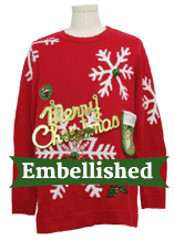 Embellished Xmas Sweaters