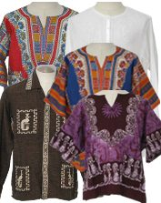 Vintage Mens 1970s Hippie Shirts